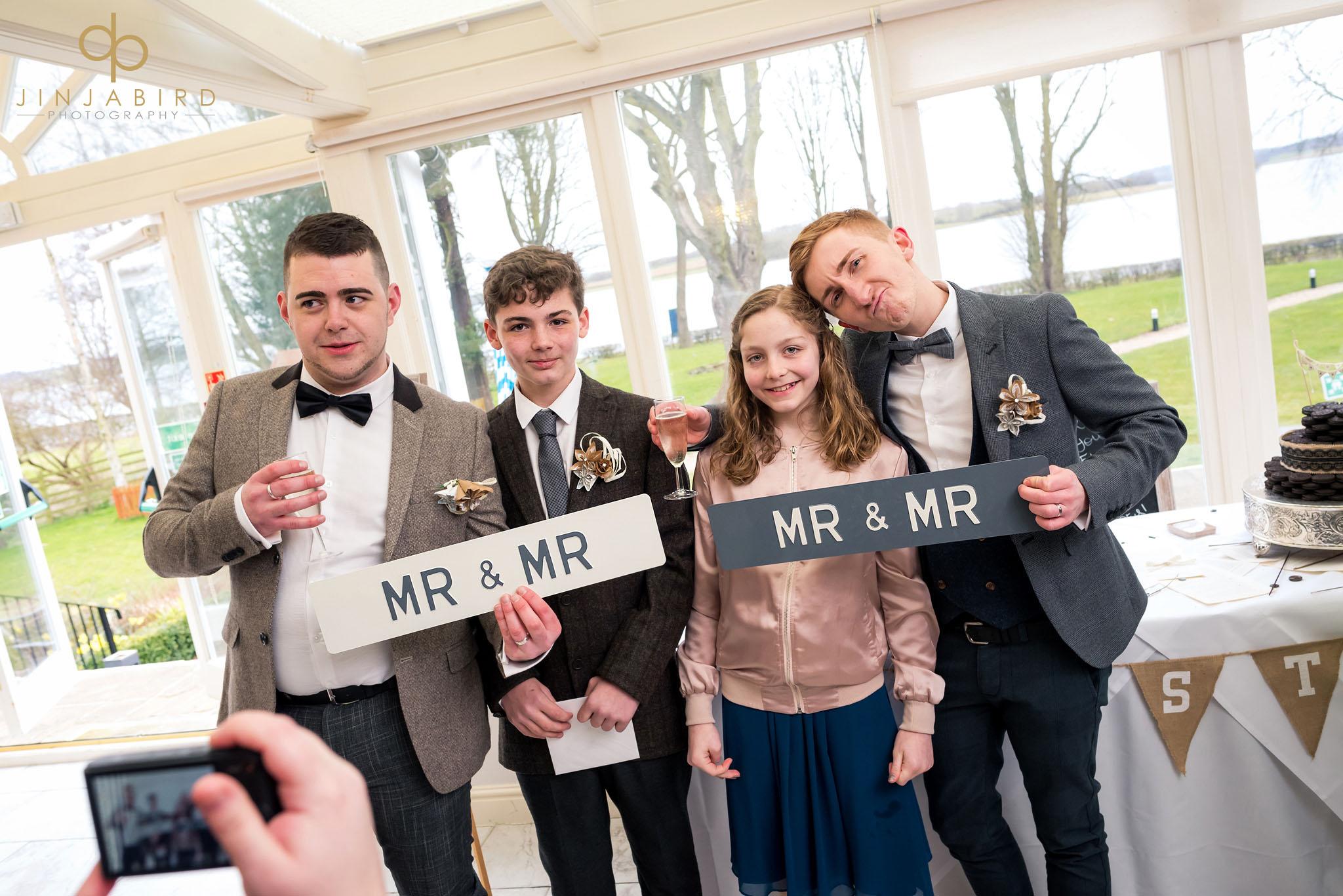 wedding at normanton park hotel