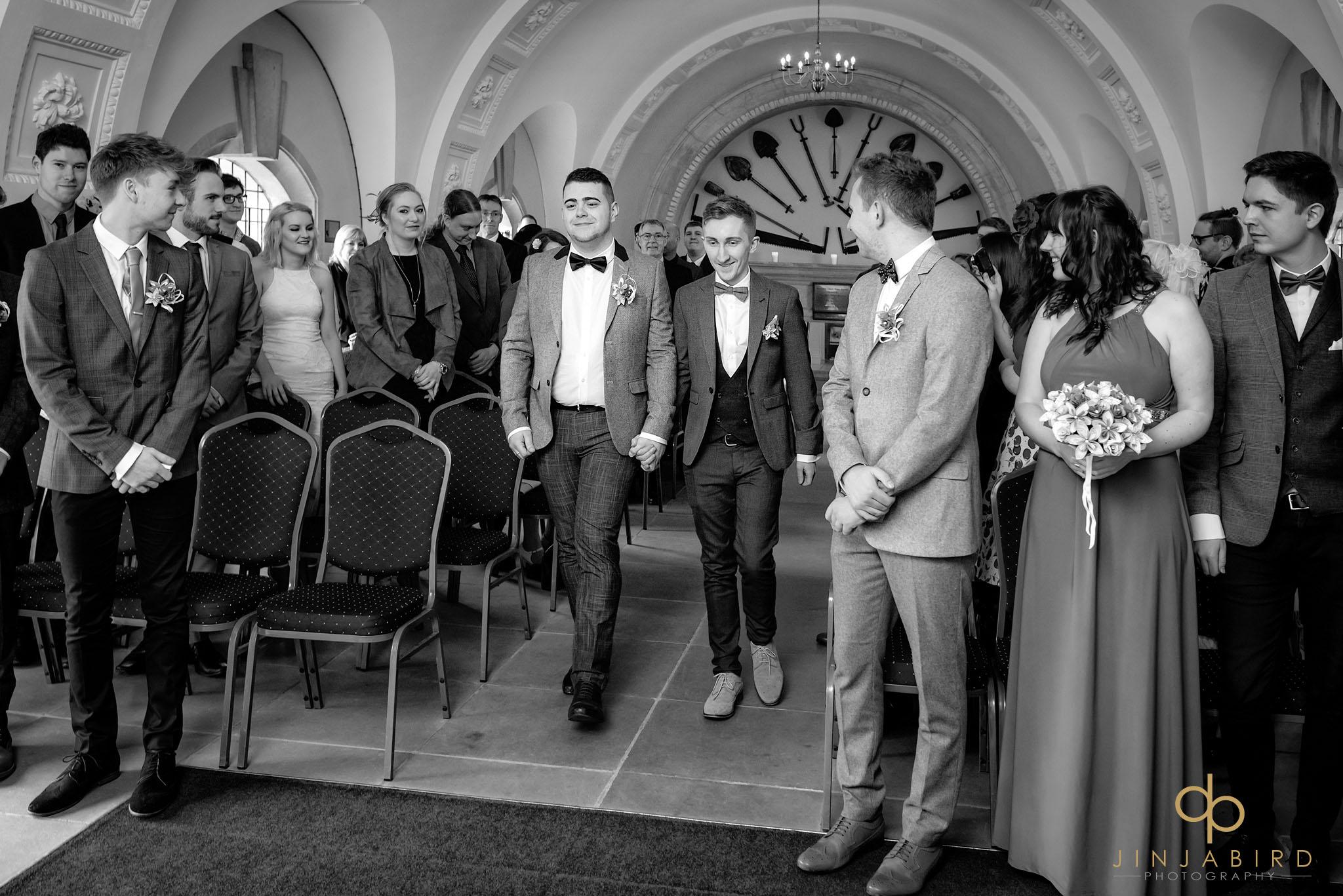 wedding ceremony normanton church