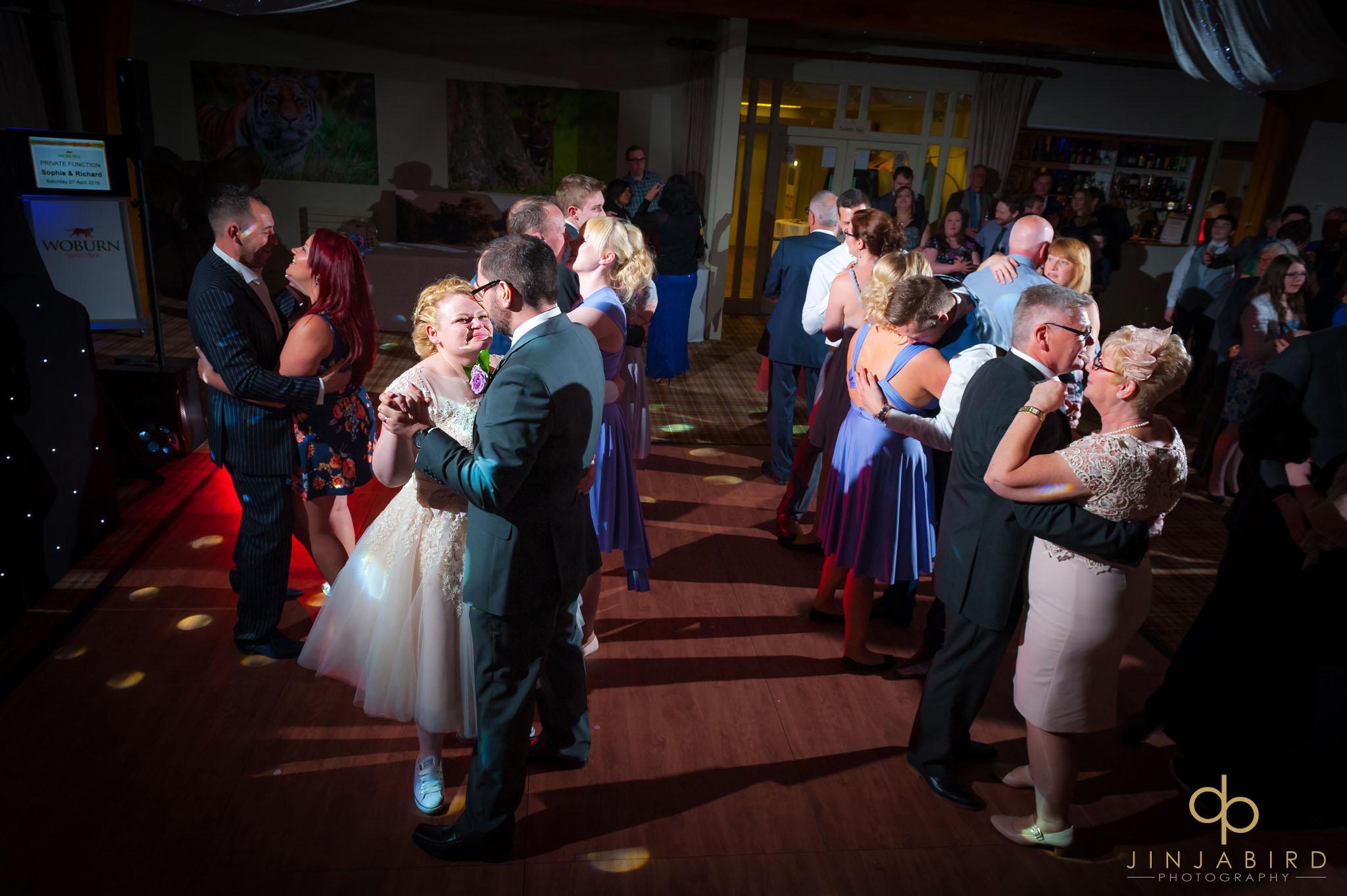 wedding disco woburn safari lodge