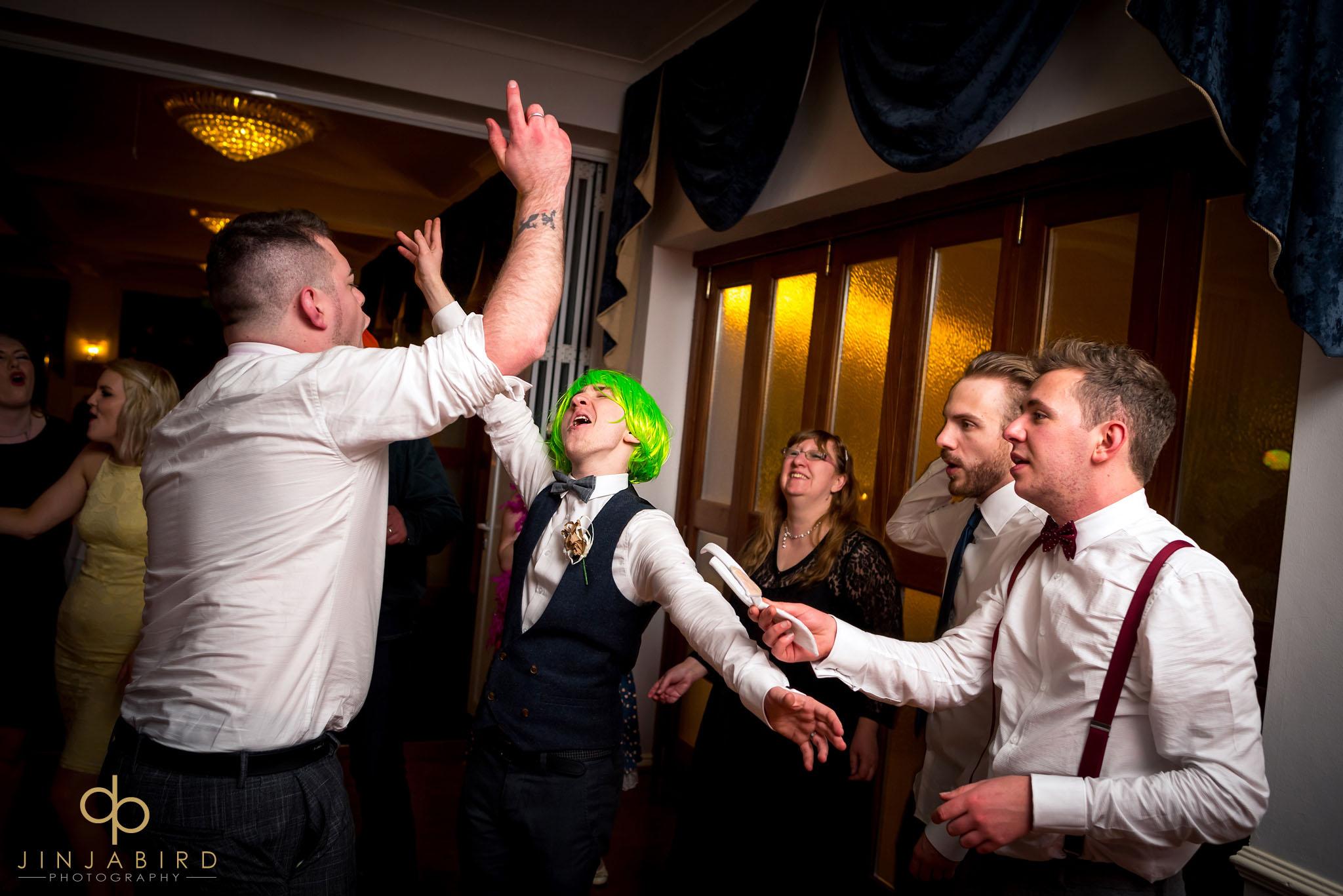 wedding fun normanton park hotel