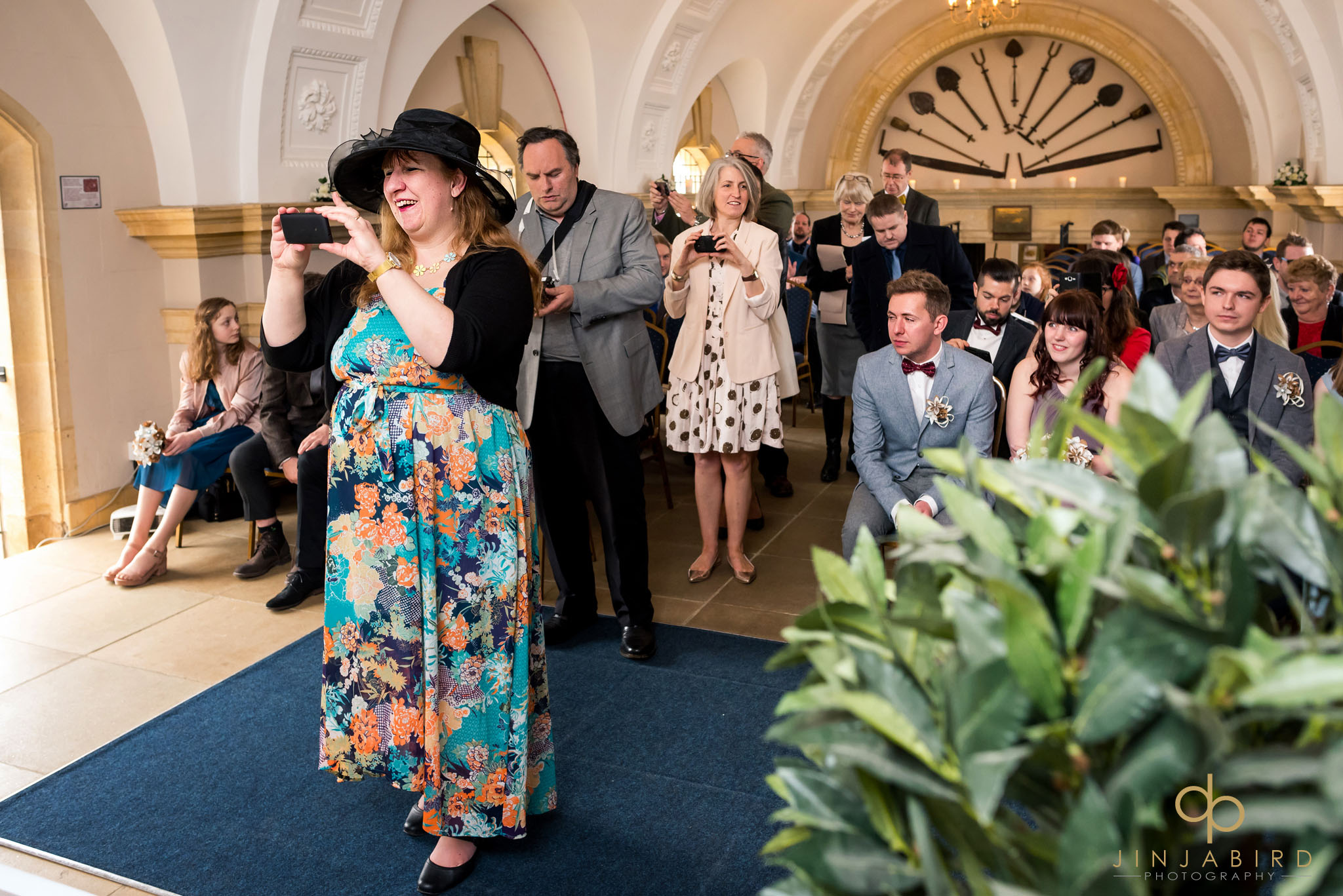 wedding guests normanton church