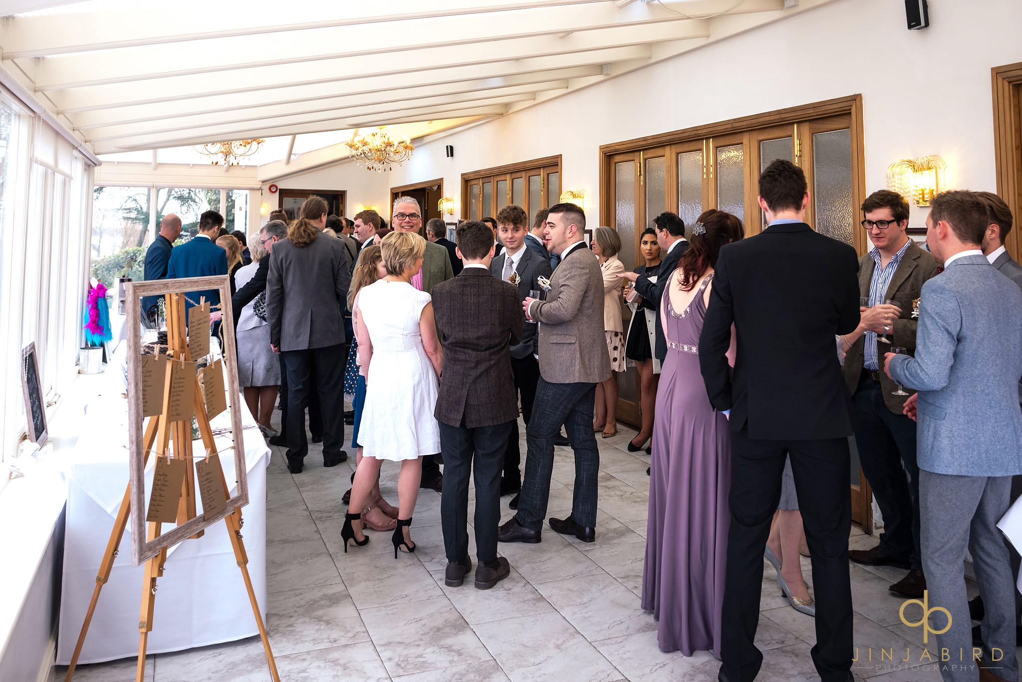 wedding reception normanton park hotel