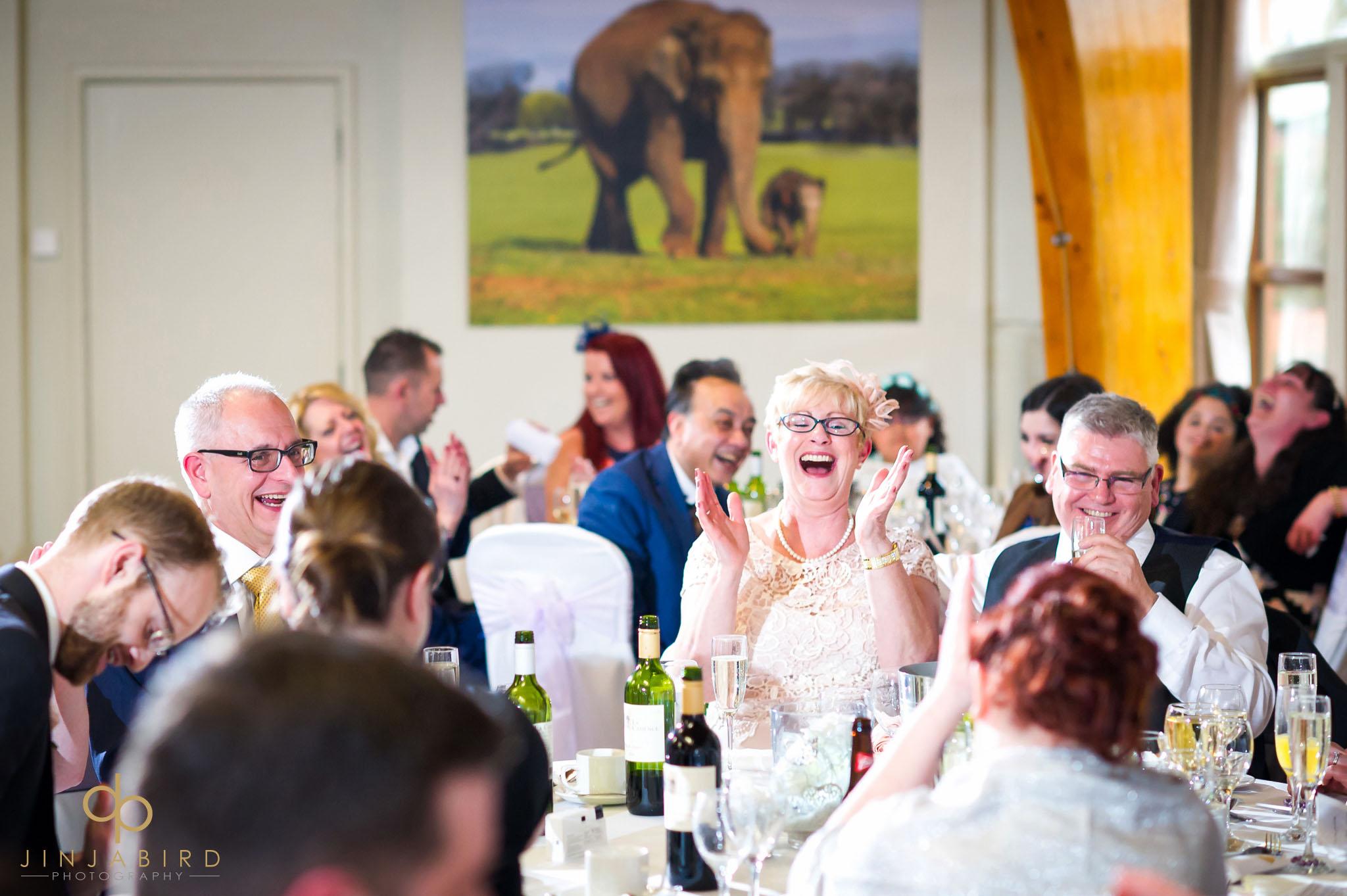 wedding reception woburn safari lodge