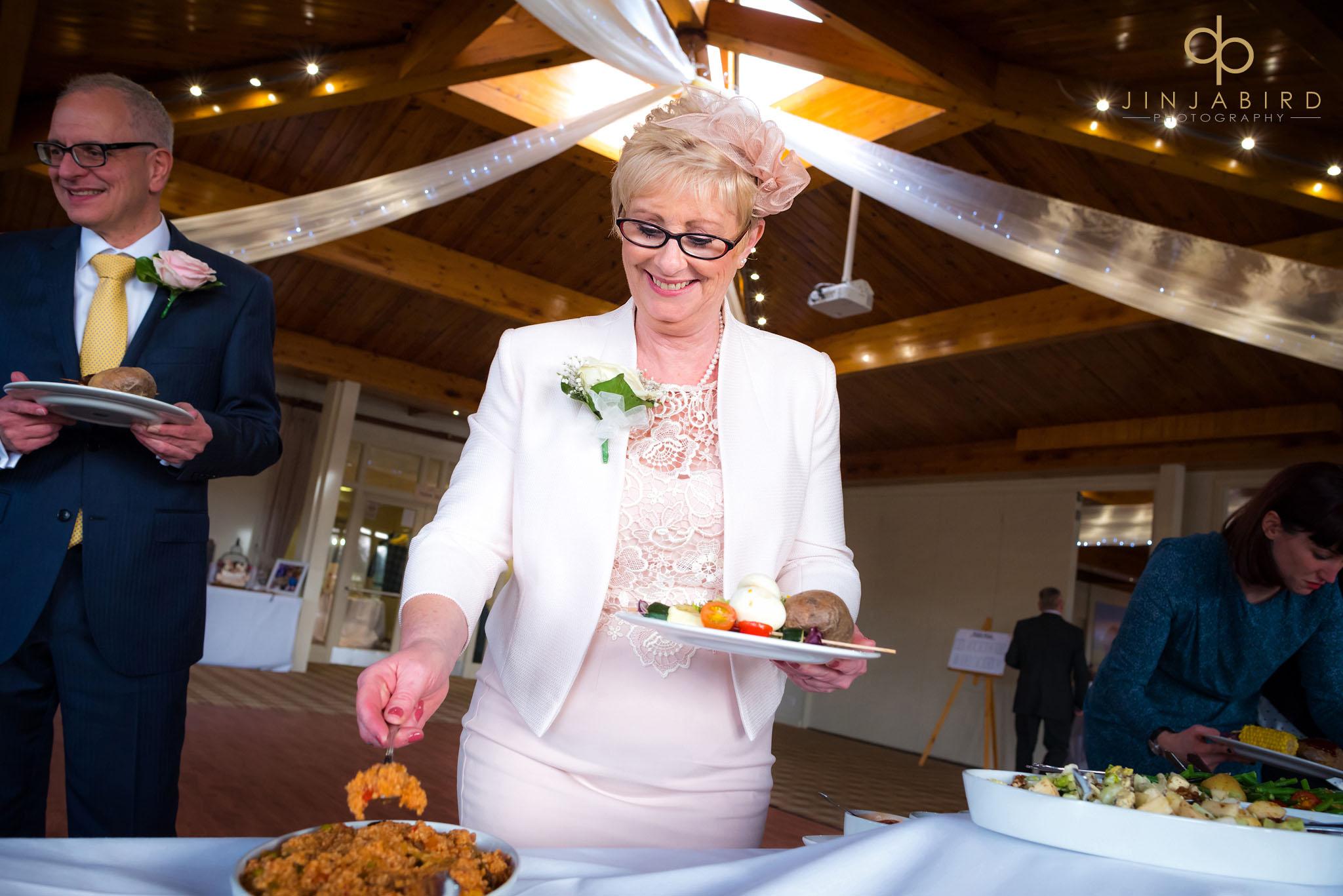 woburn safari lodge wedding food