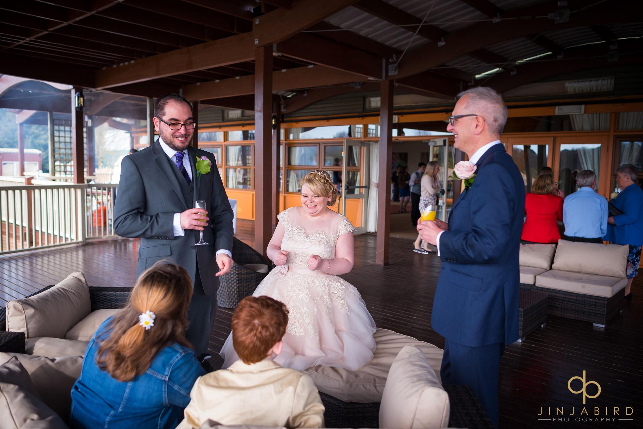 woburn safari lodge wedding photos