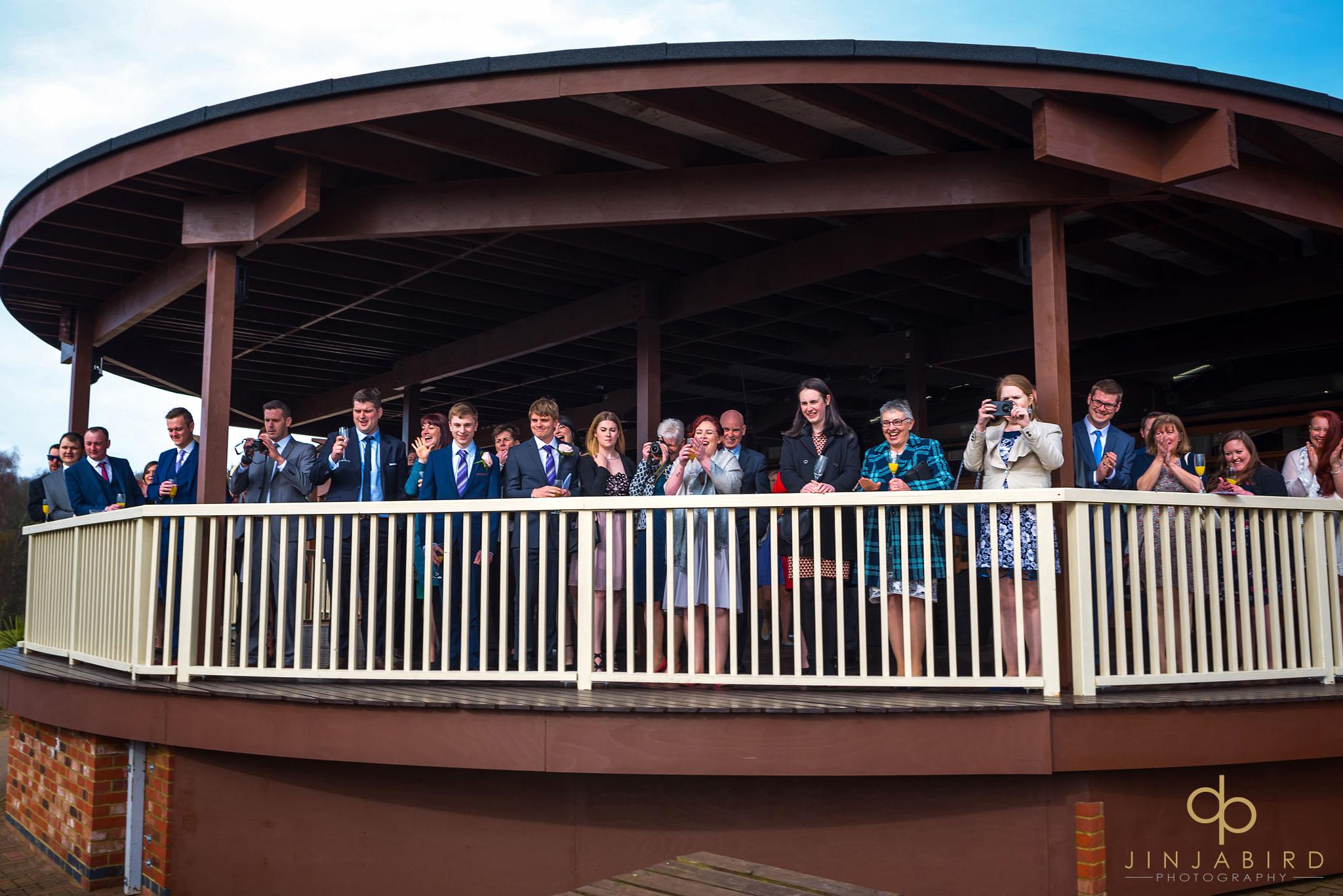 woburn safari lodge wedding reception