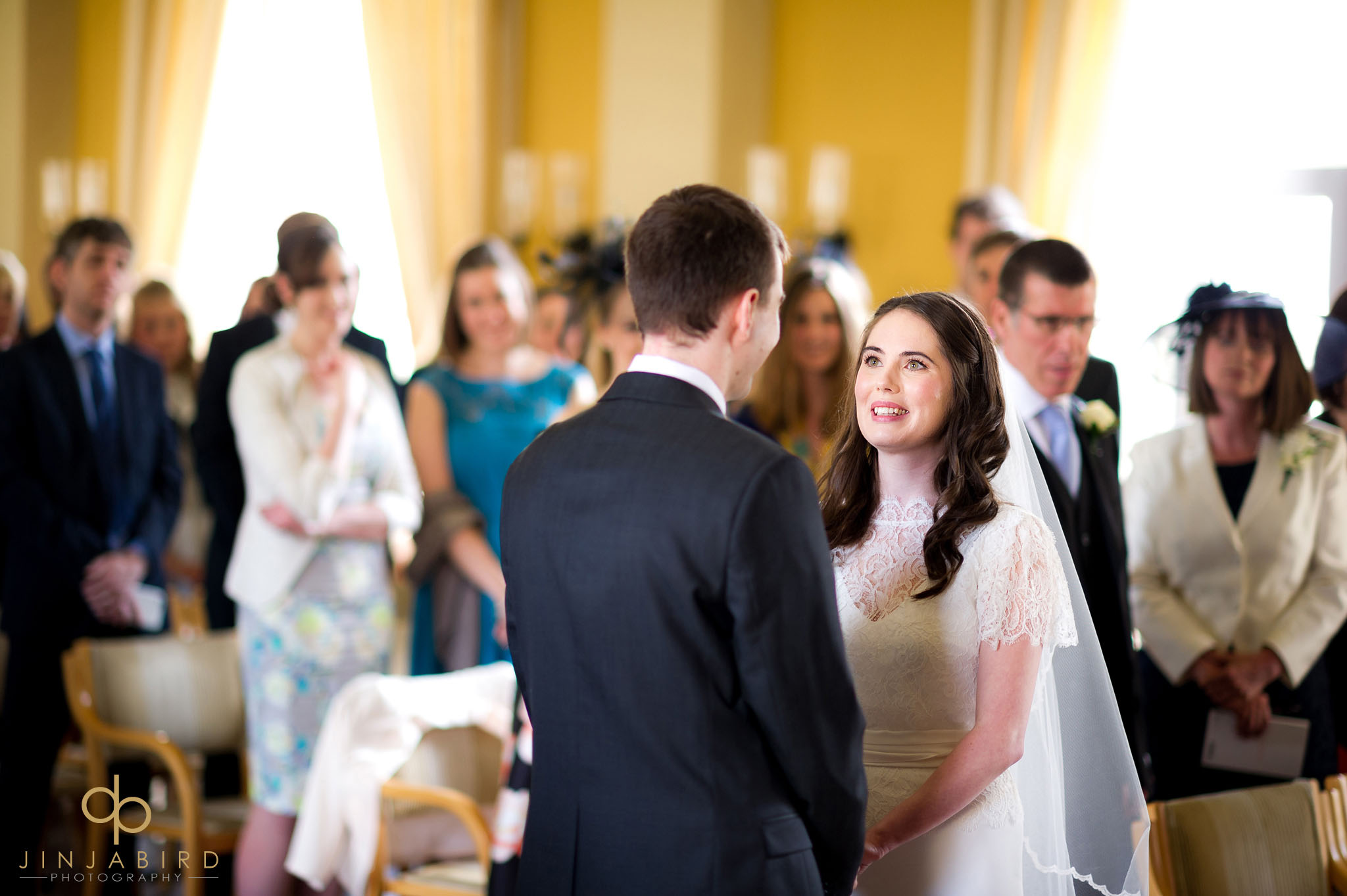 bride at downing college cambridge