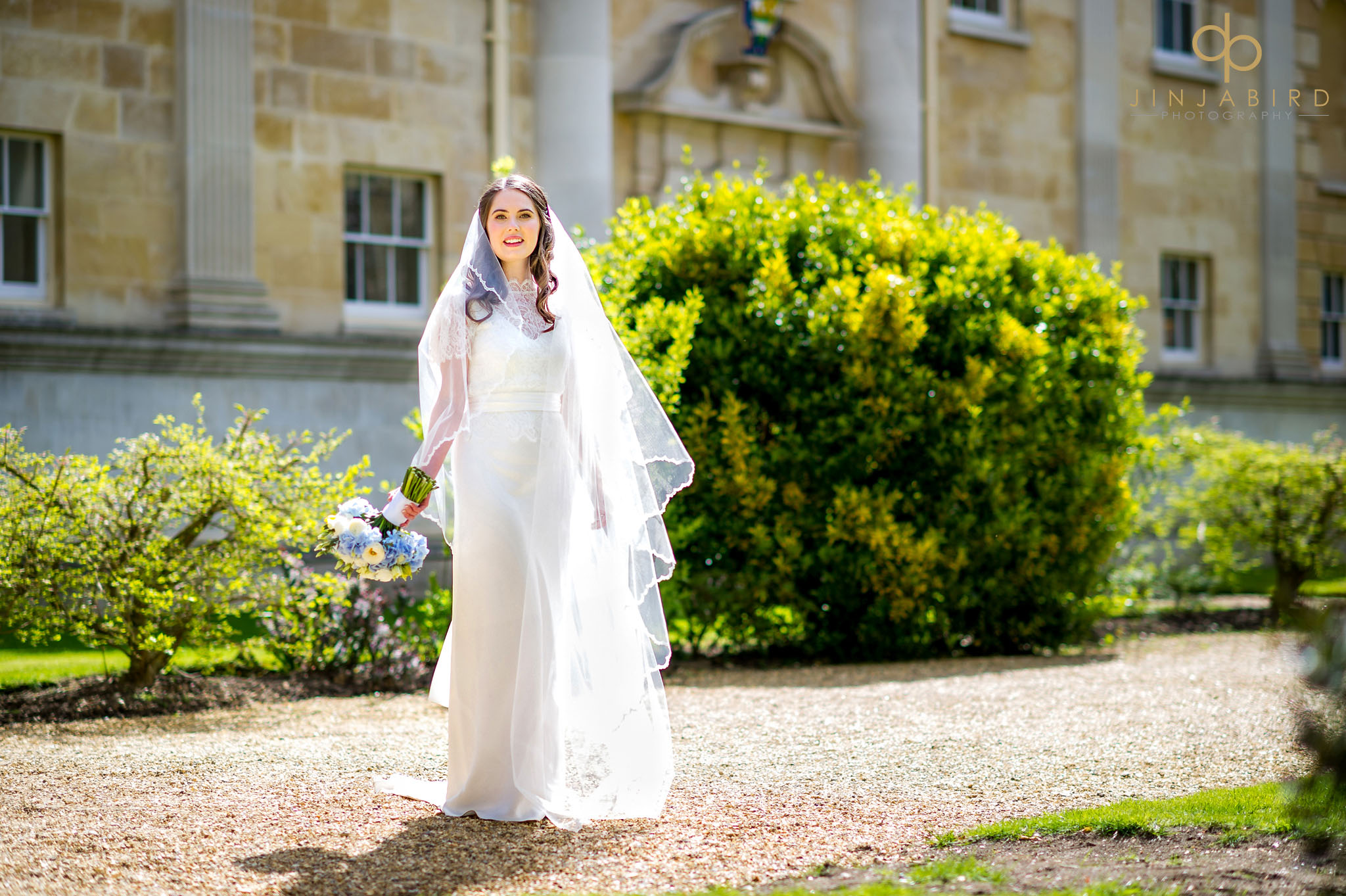 bride downing college wedding