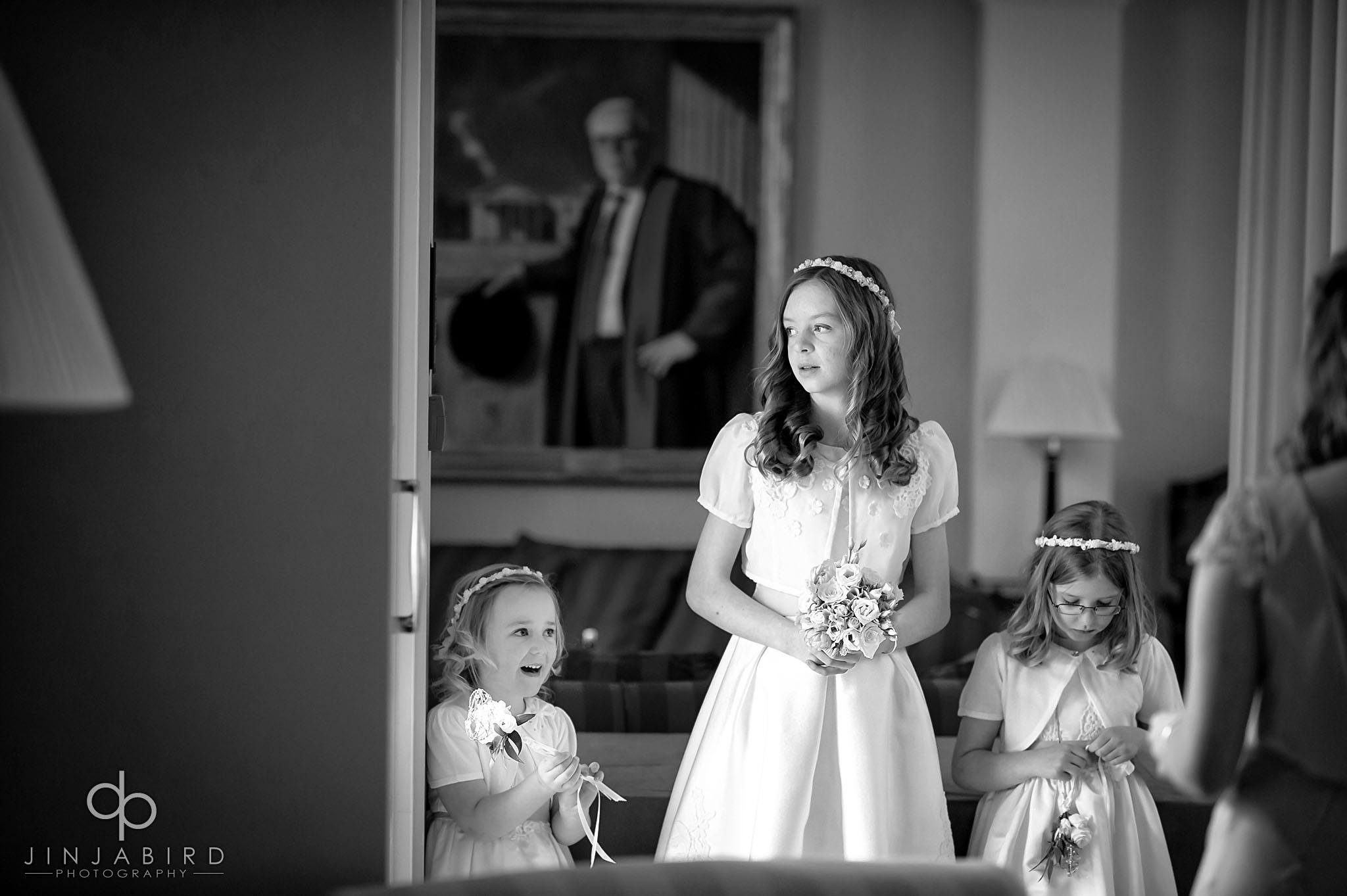 bridesmaids downing college