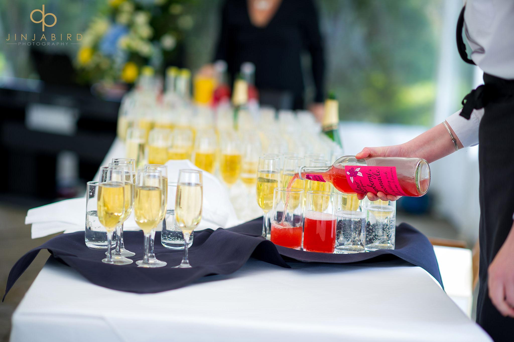 rectory farm wedding drinks