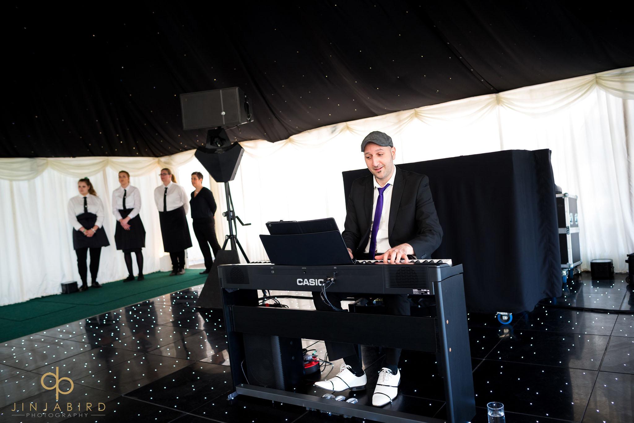 rectory farm wedding pianist