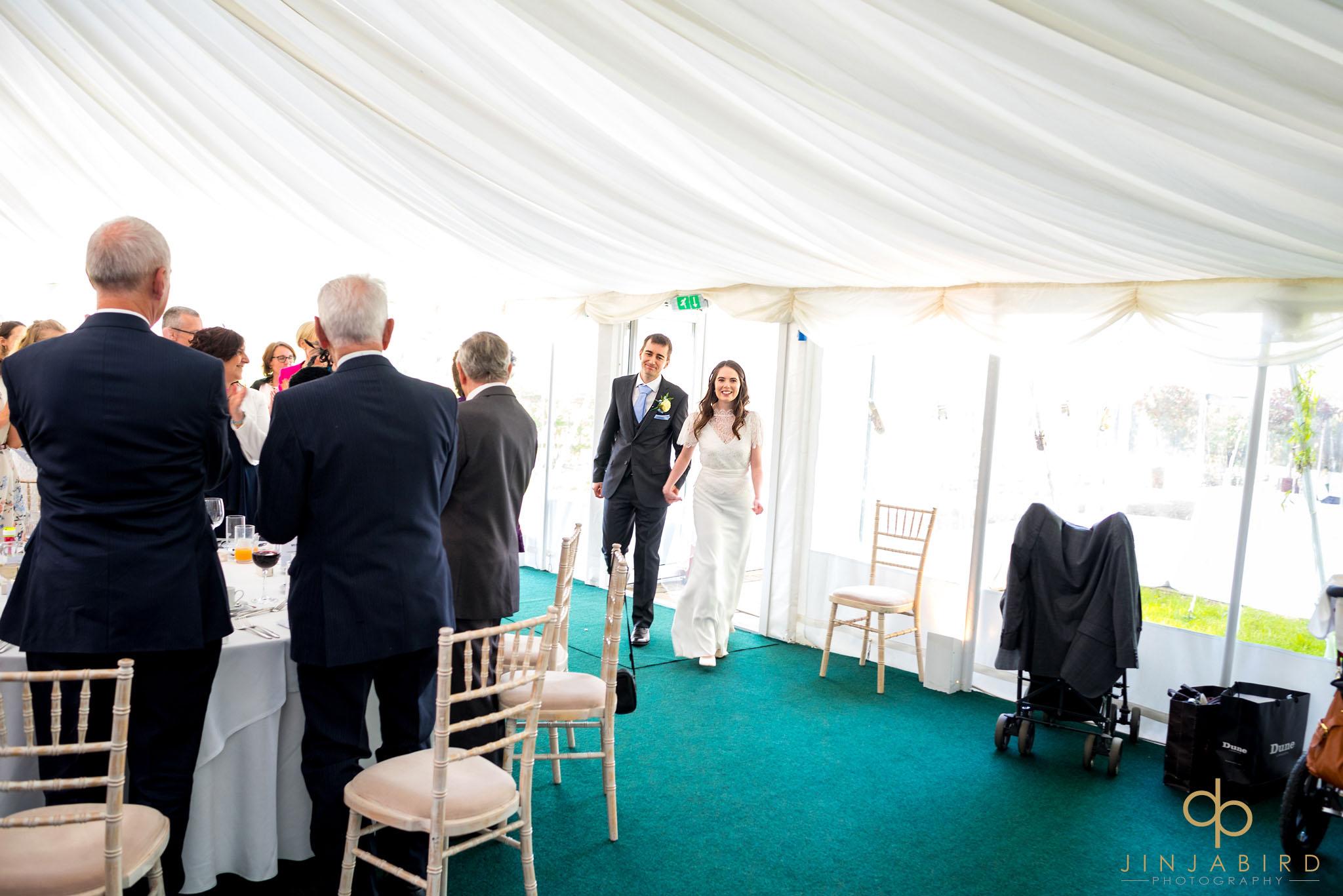 rectory farm wedding reception