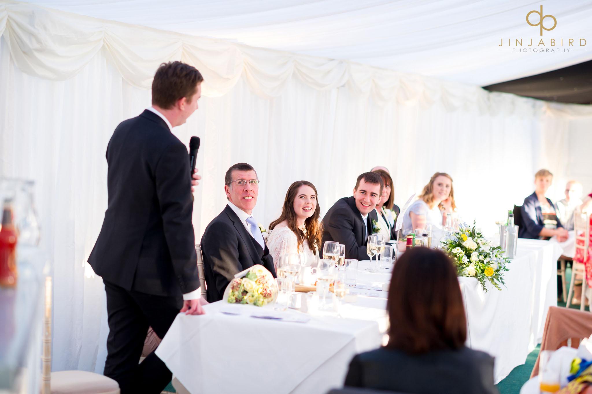 rectory farm wedding speeches