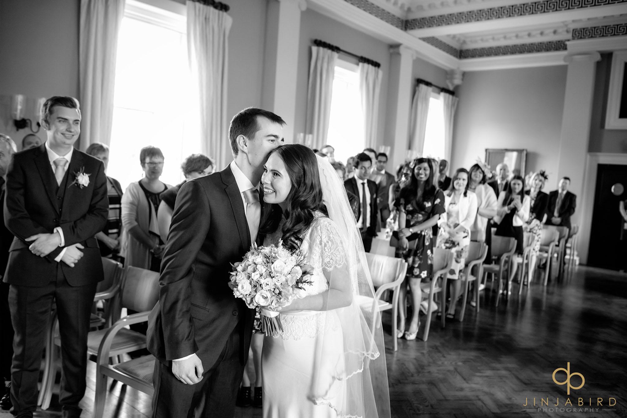 wedding ceremony downing college cambridge