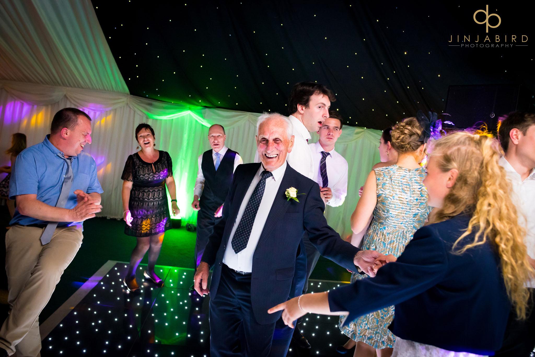 wedding disco rectory farm cambridge