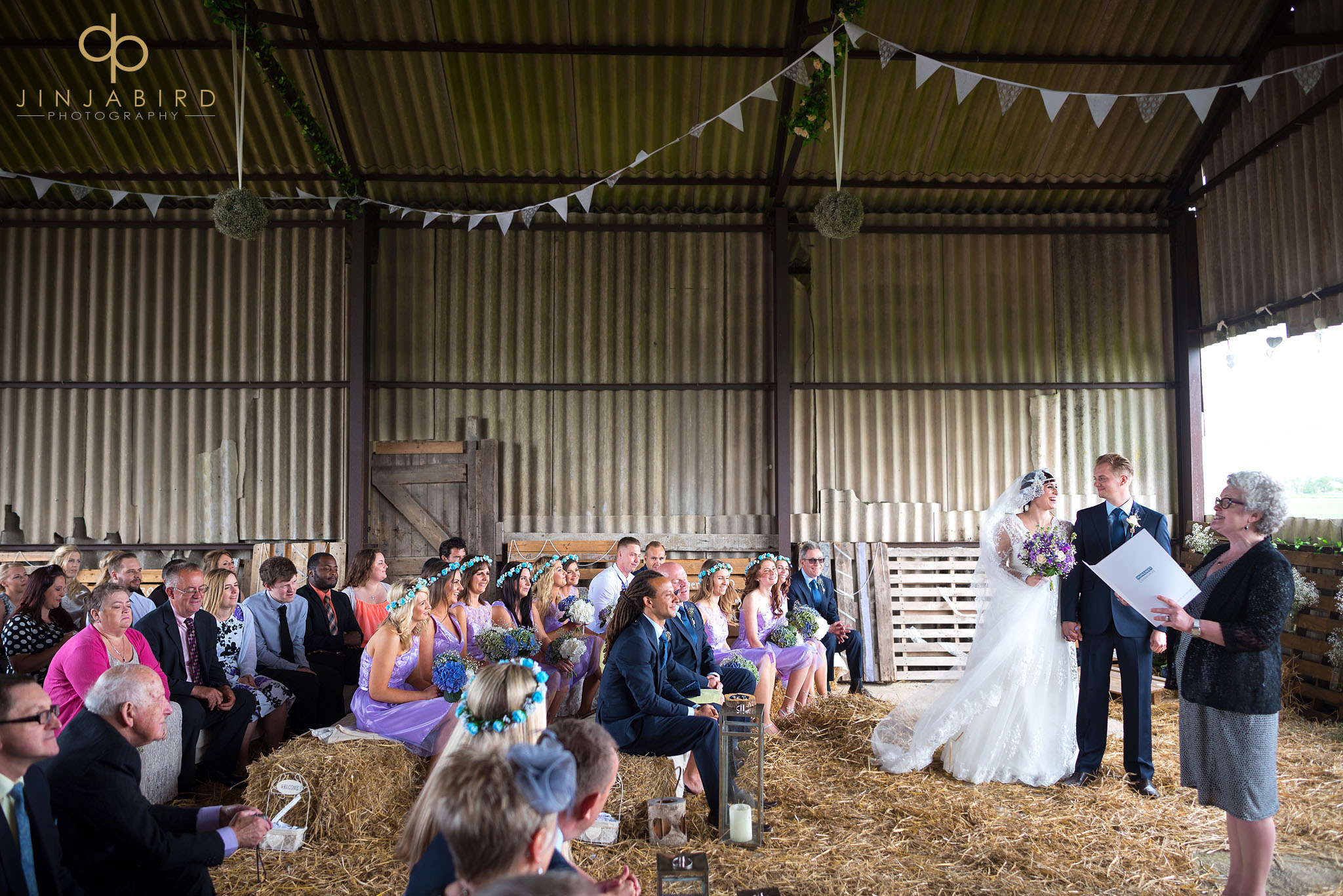 marriage in haybarn