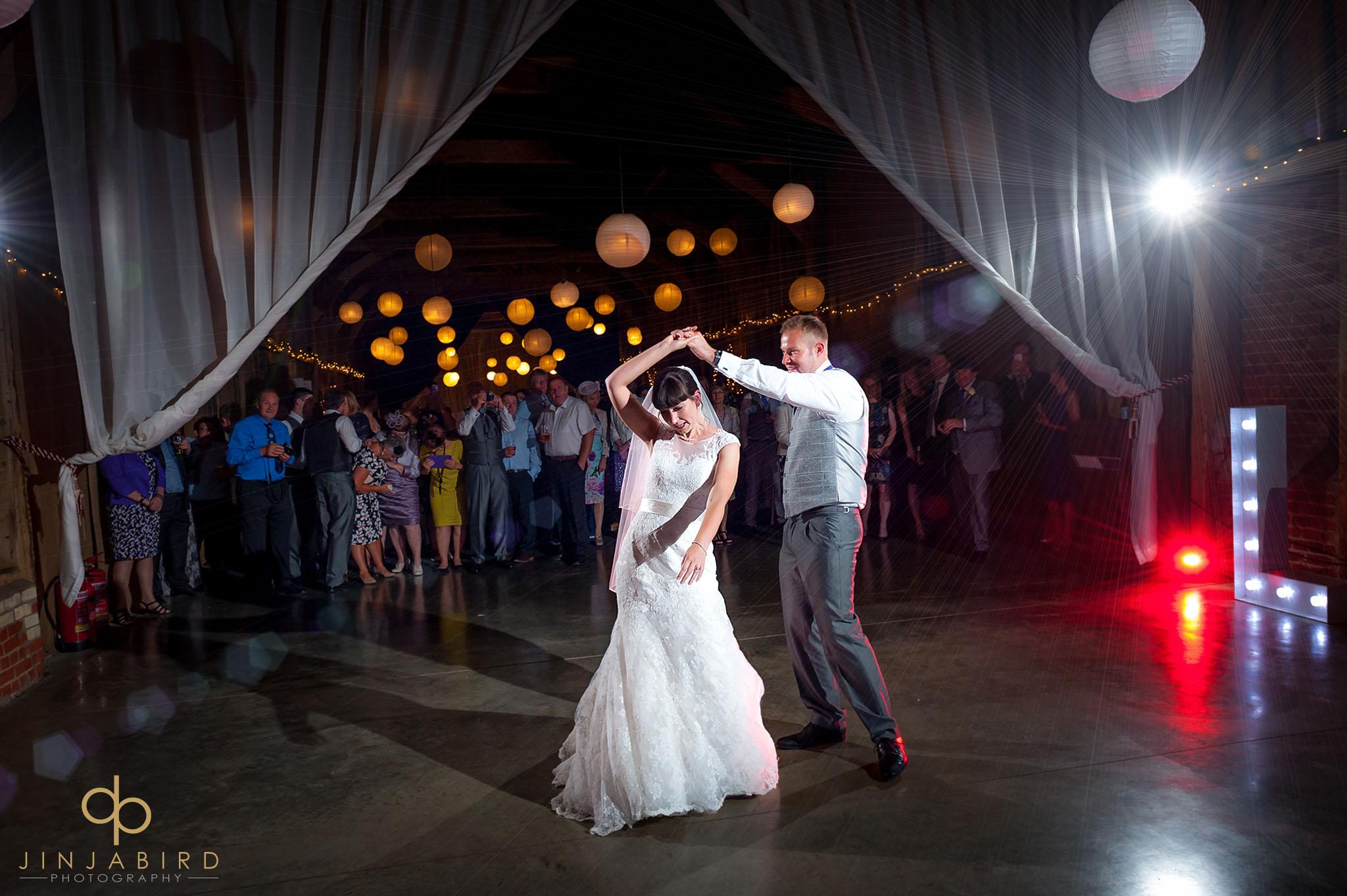 bride groom first dance childerley hall