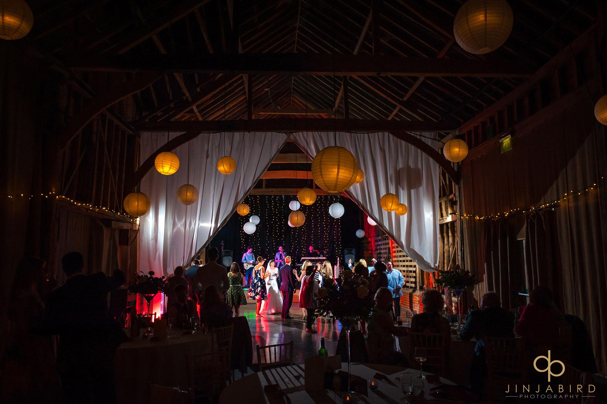 childerley hall evening wedding reception