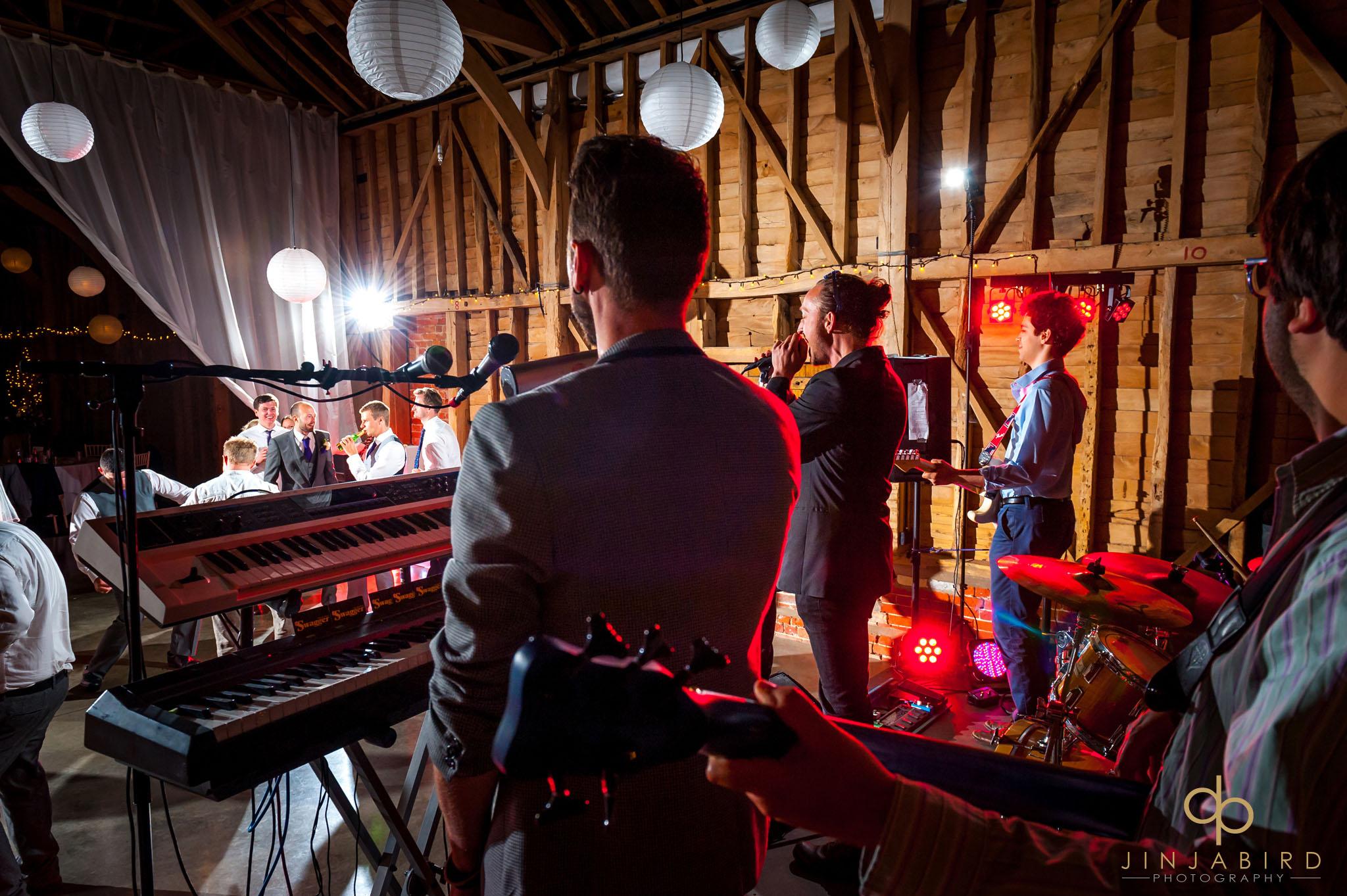 childerley hall wedding band