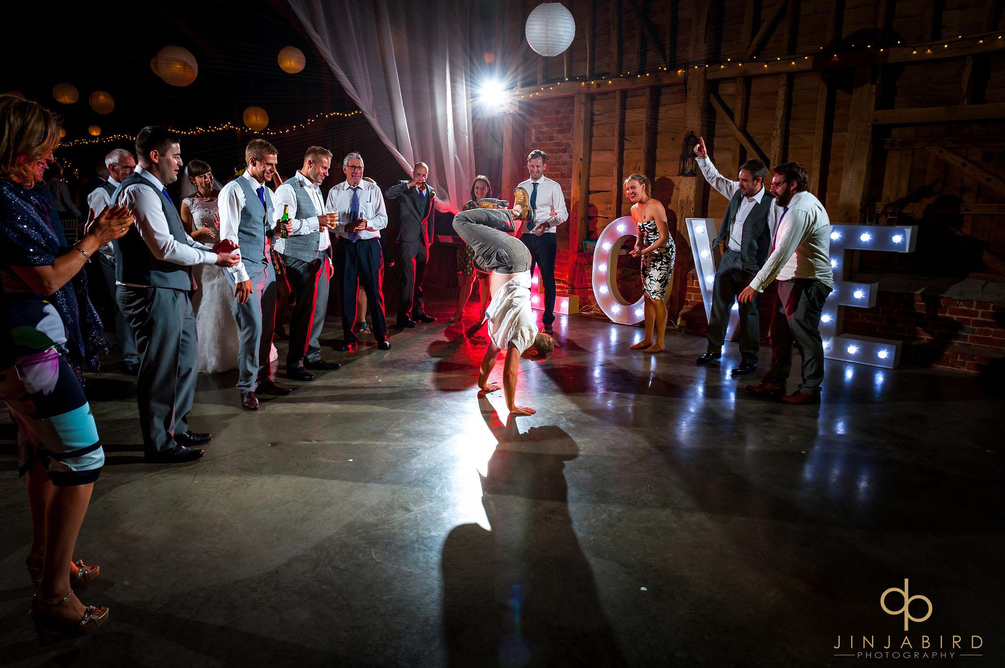childerley hall wedding guests dancing