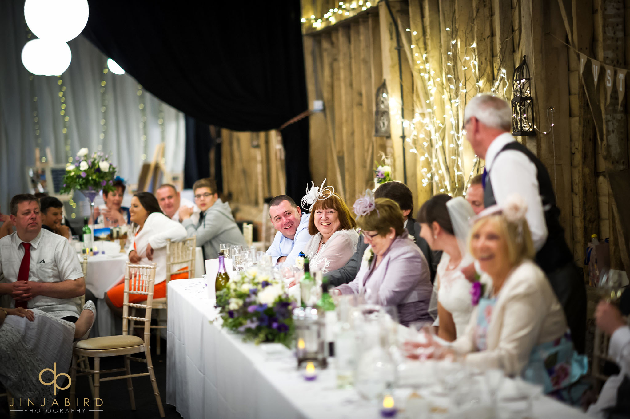 childerley hall wedding meal