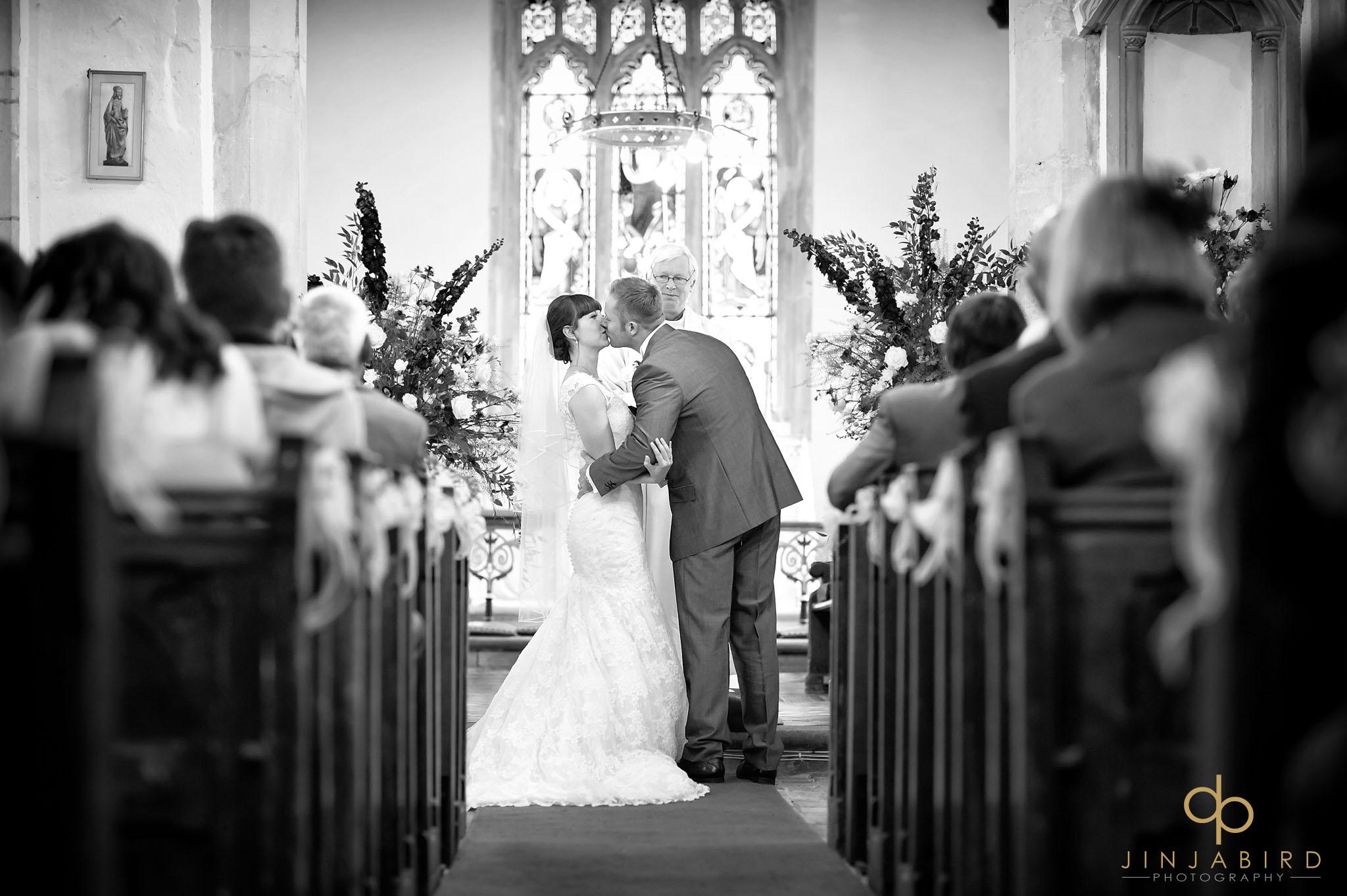 first kiss st-mary magdalene church hilton