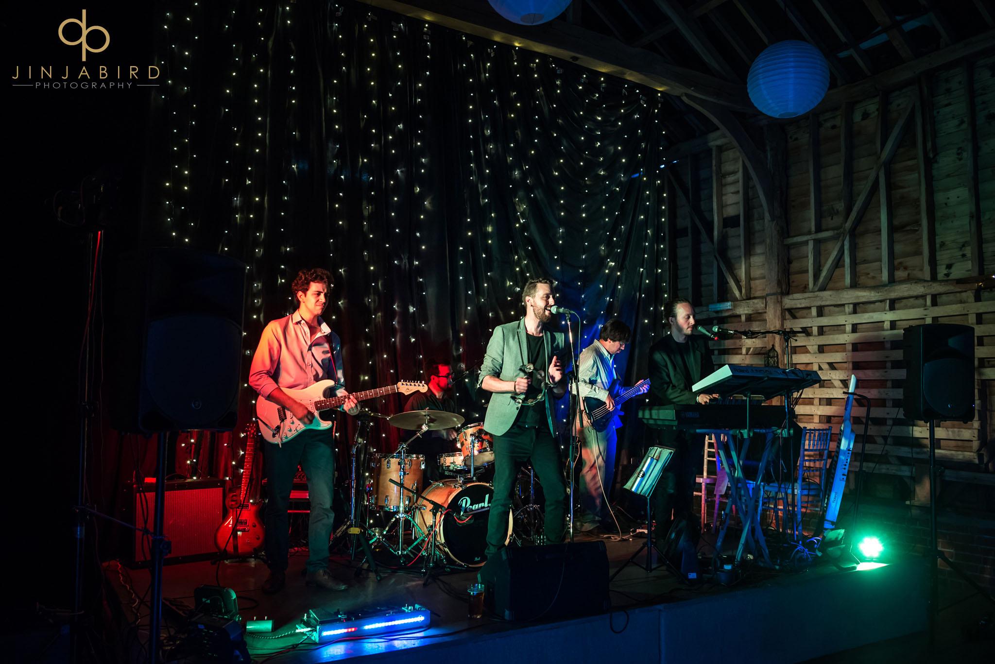 wedding band childerley hall