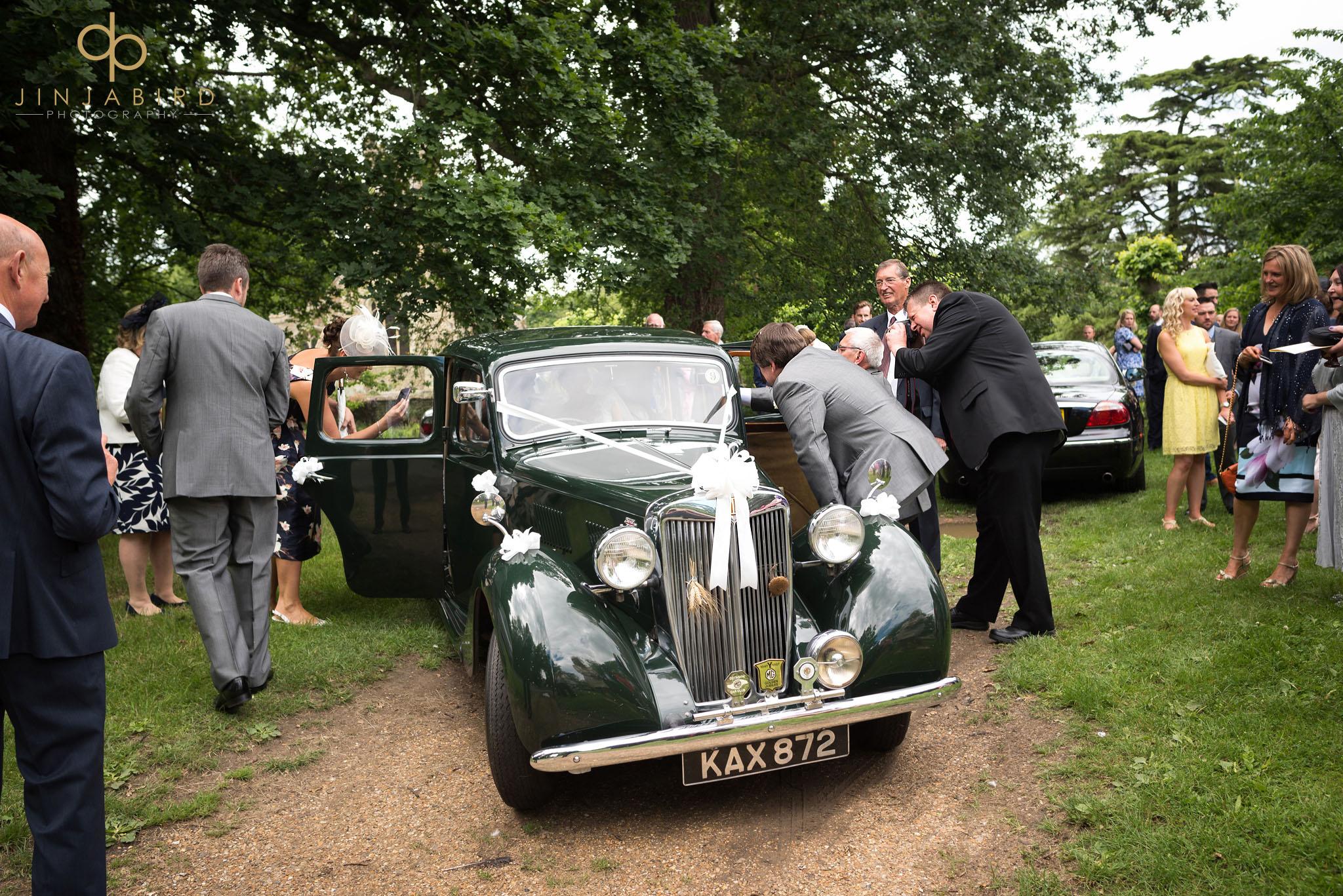 wedding car childerley hall