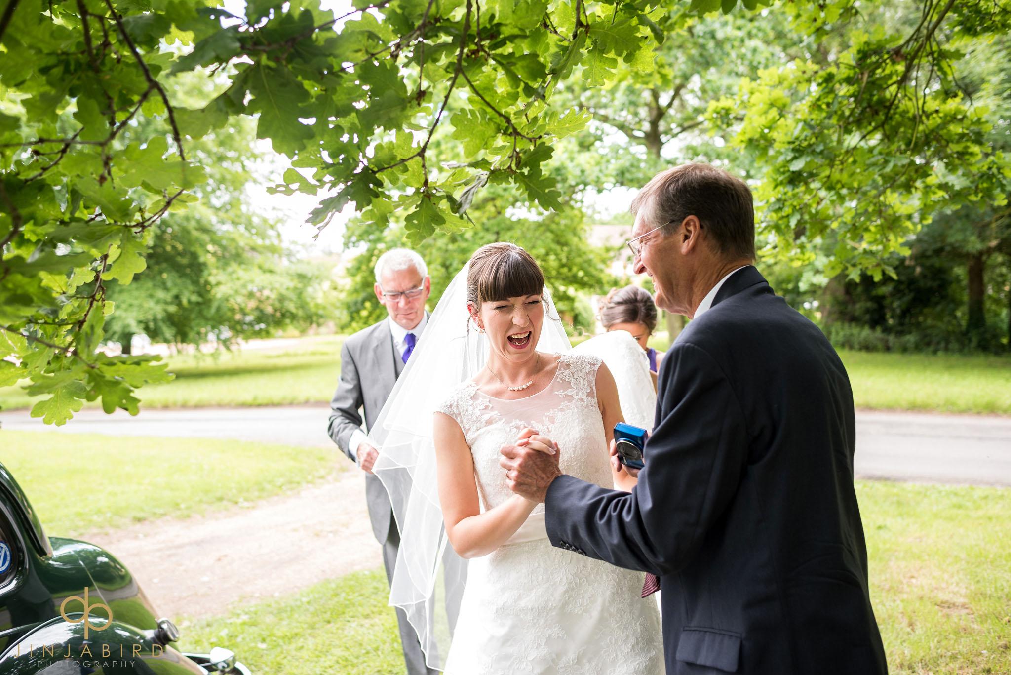 wedding photos st-mary magdalene church hilton
