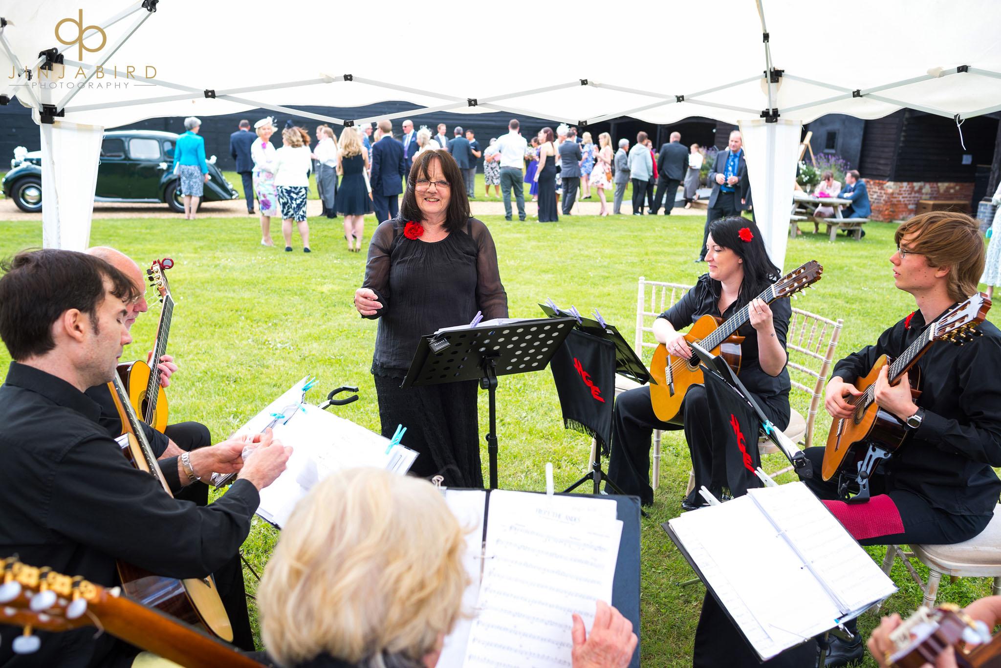 wedding quartet childerley hall