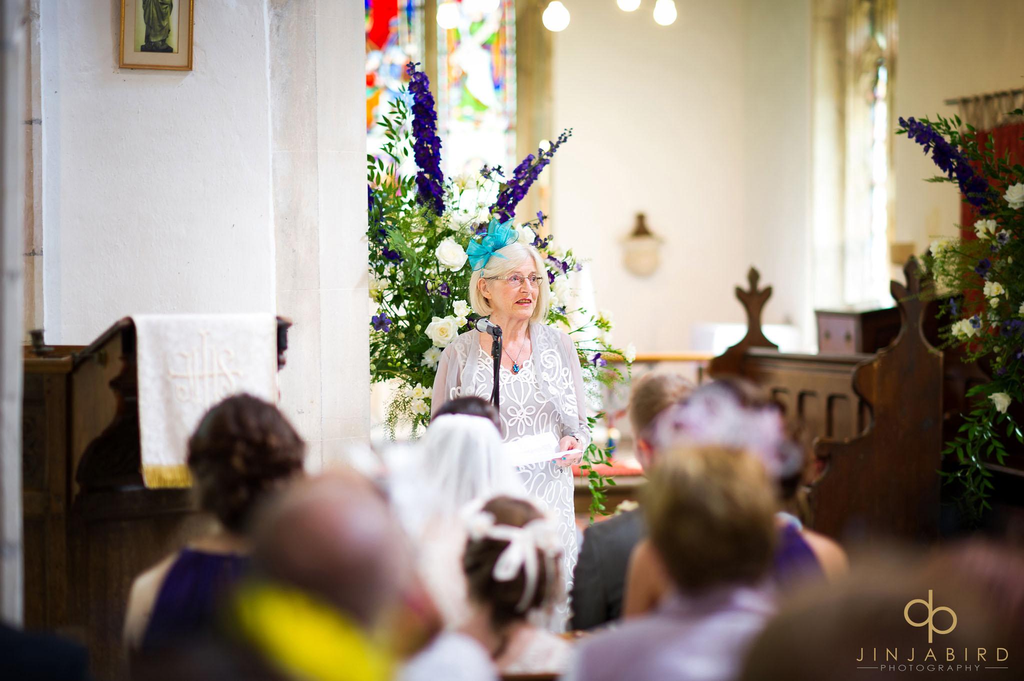 wedding reading st-mary magdalene church hilton