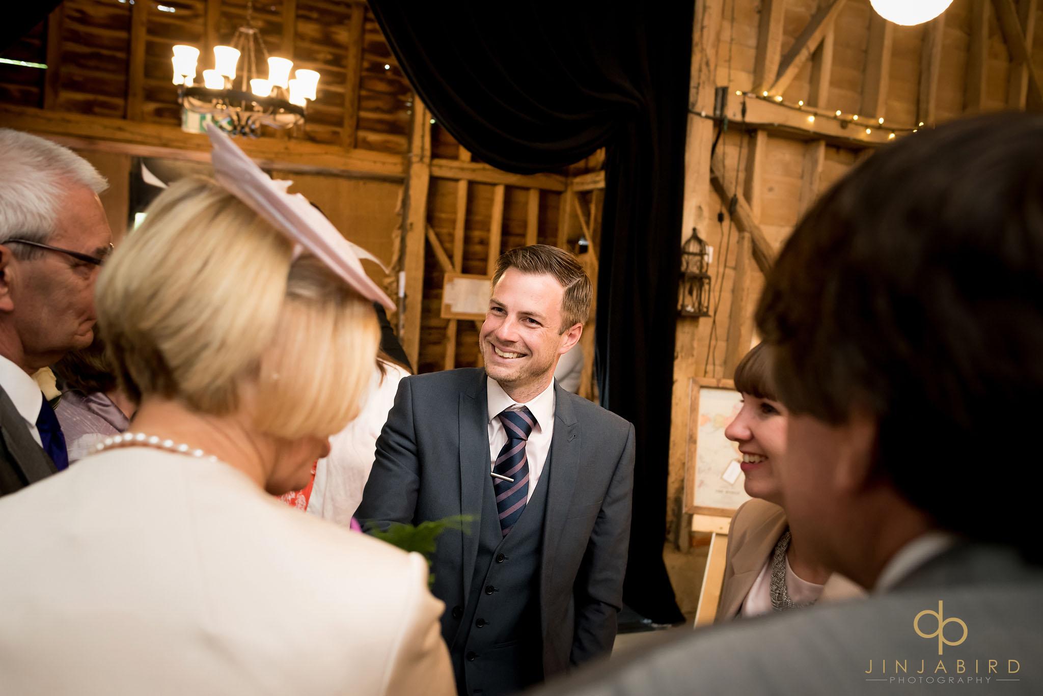 wedding reception long barn childerley hall