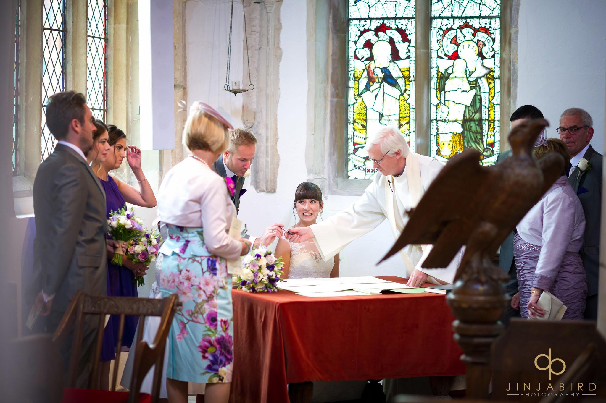 wedding register st-mary magdalene church hilton