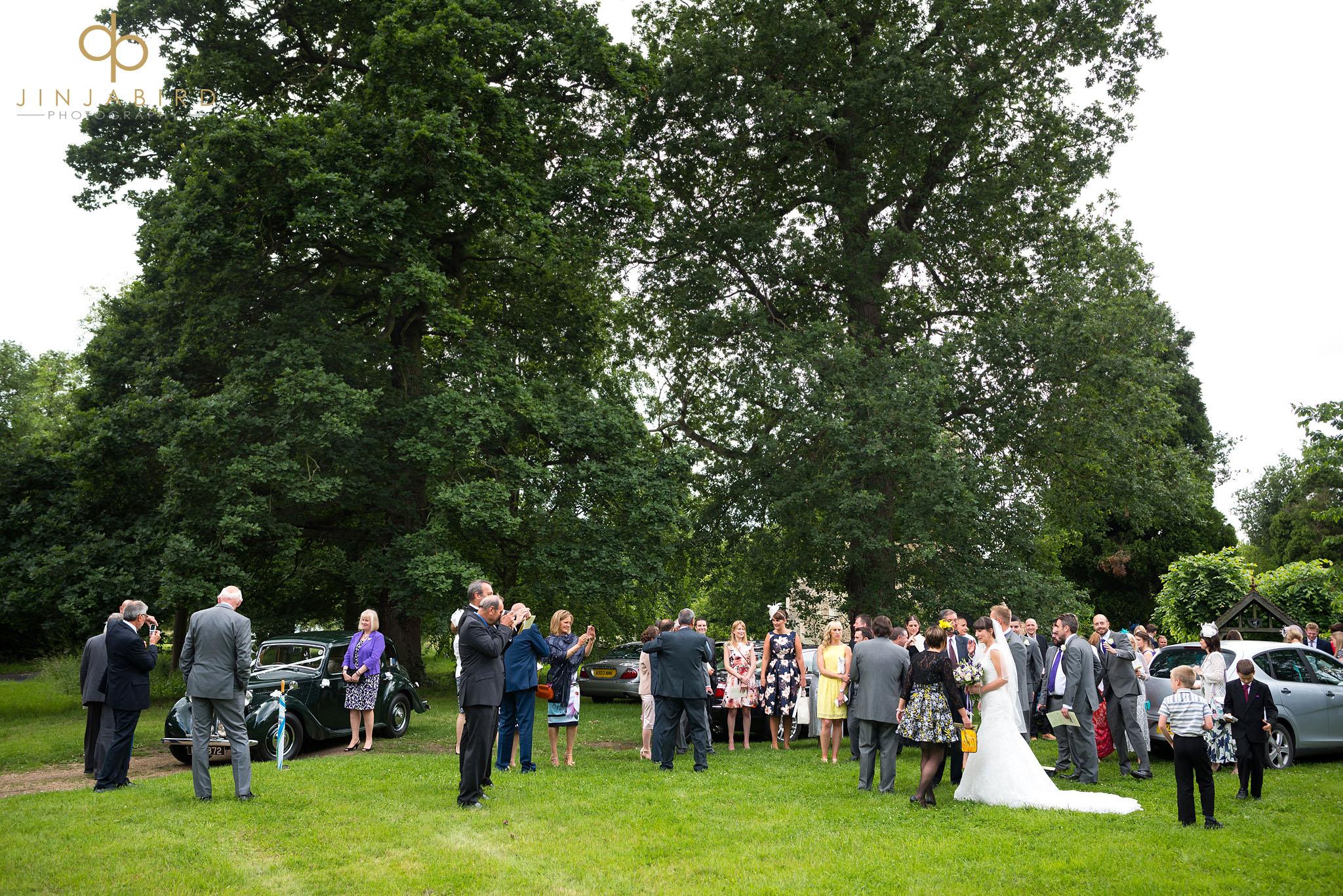 wedding service st-mary magdalene church hilton