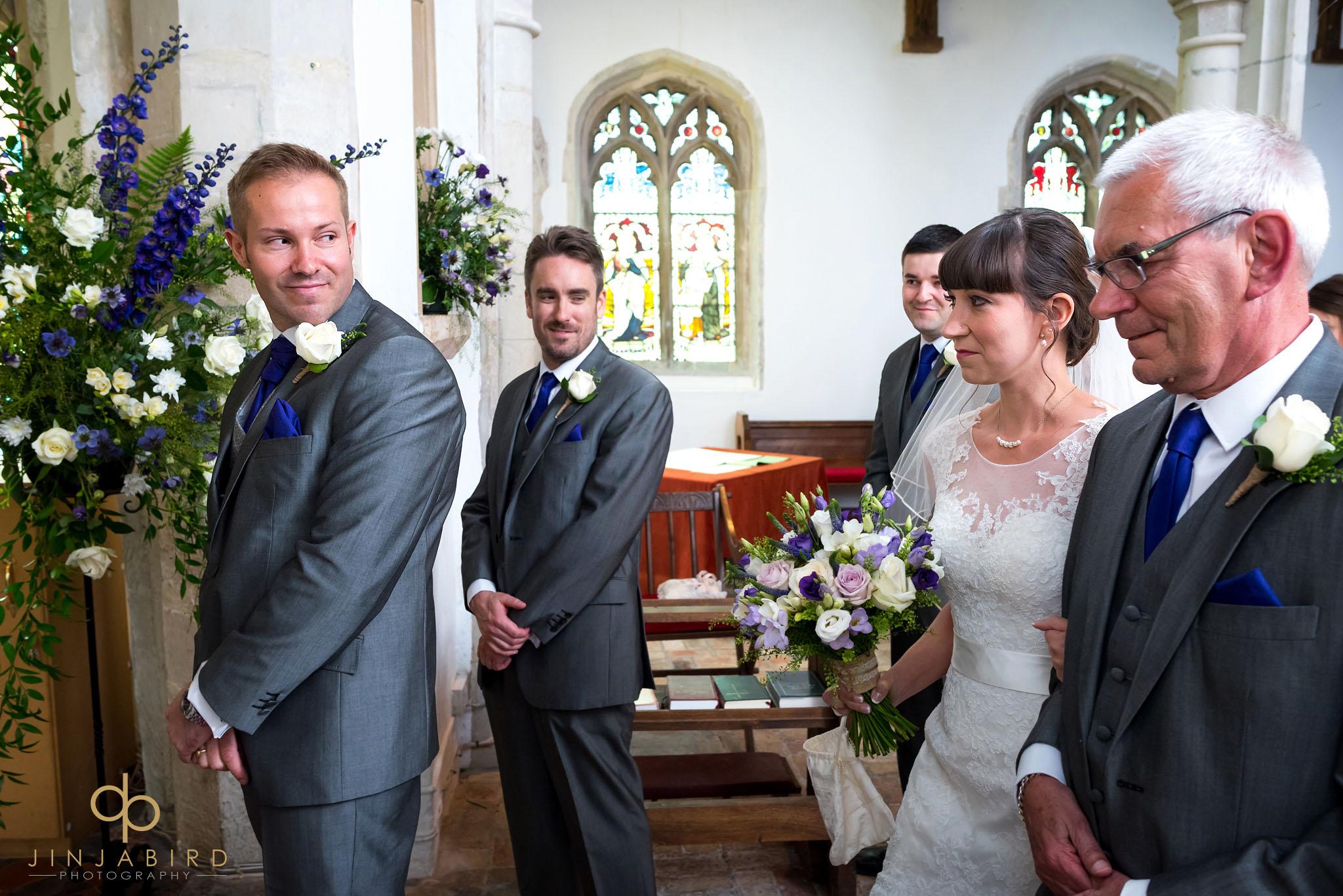 wedding st-mary magdalene church hilton