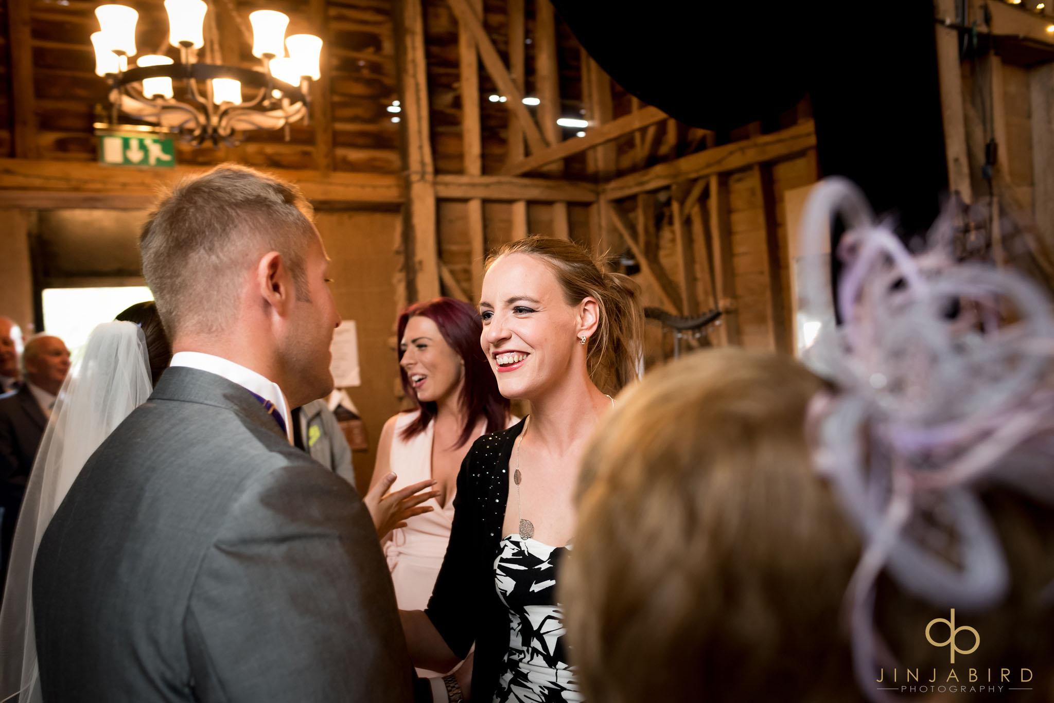 weddings childerley hall long barn