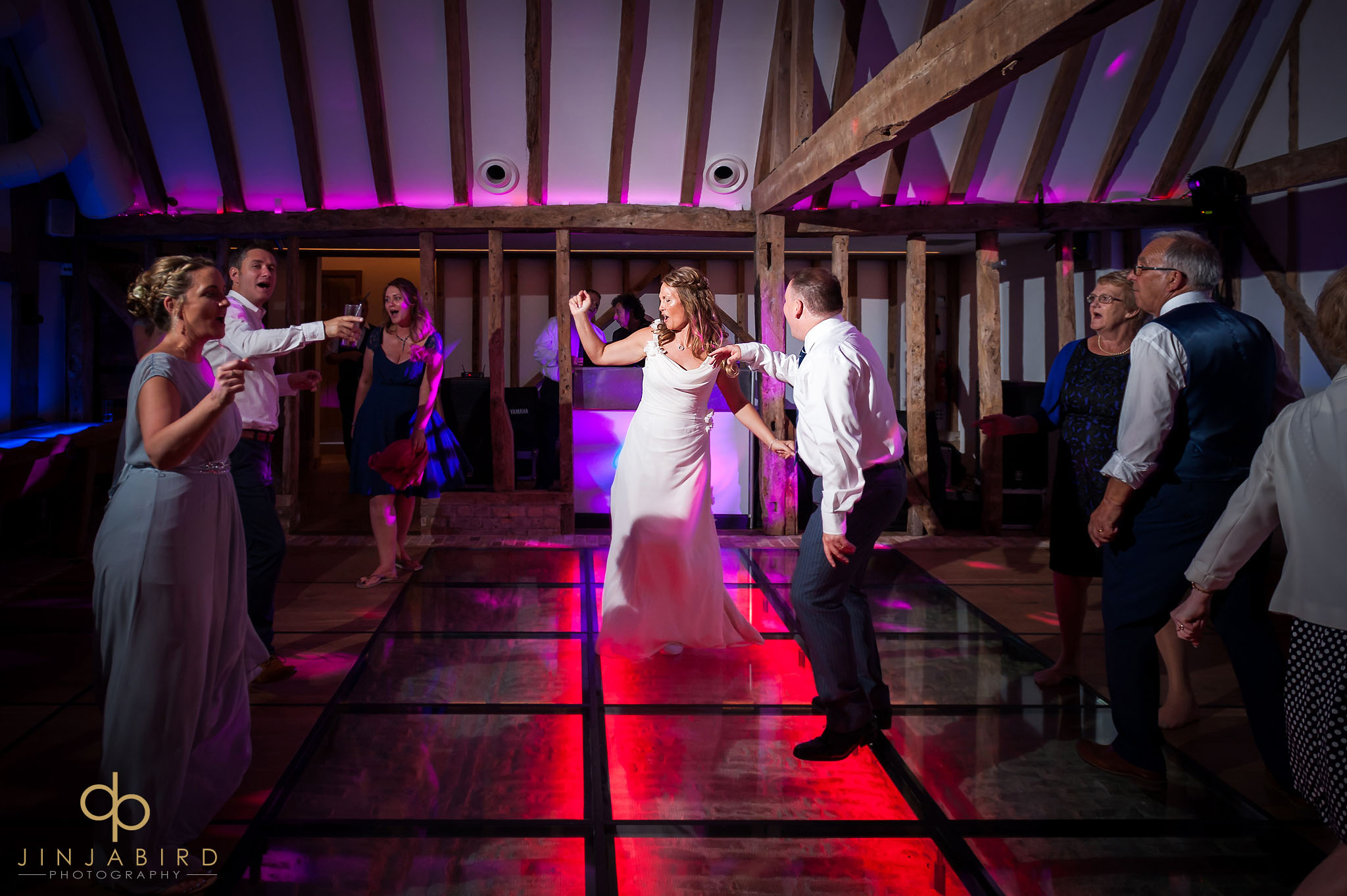 bride dancing south farm