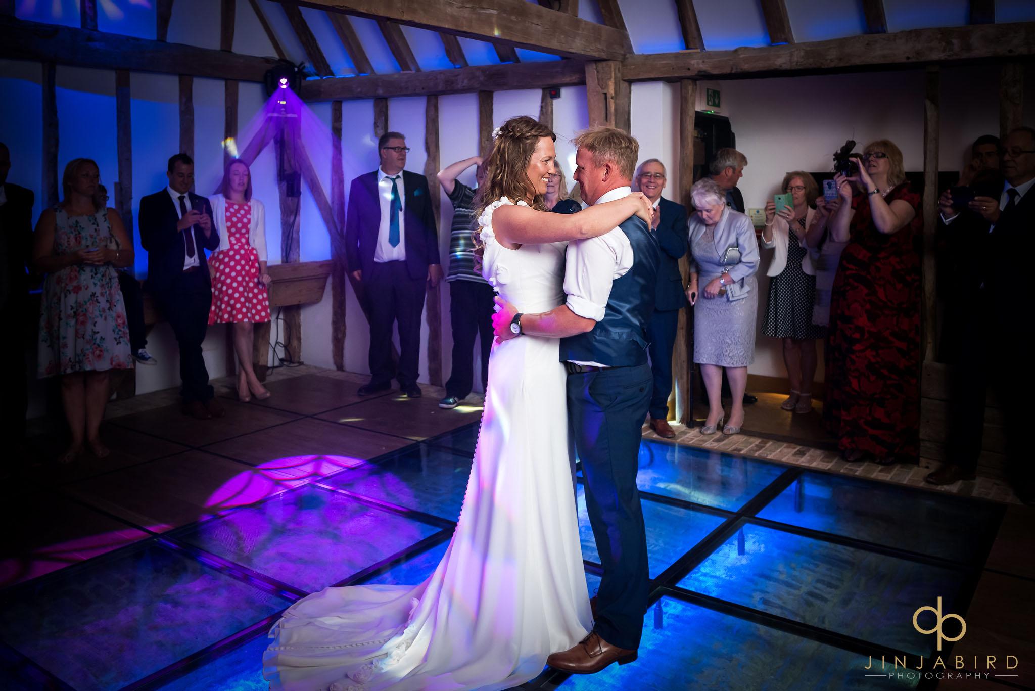 bride groom dancing south farm