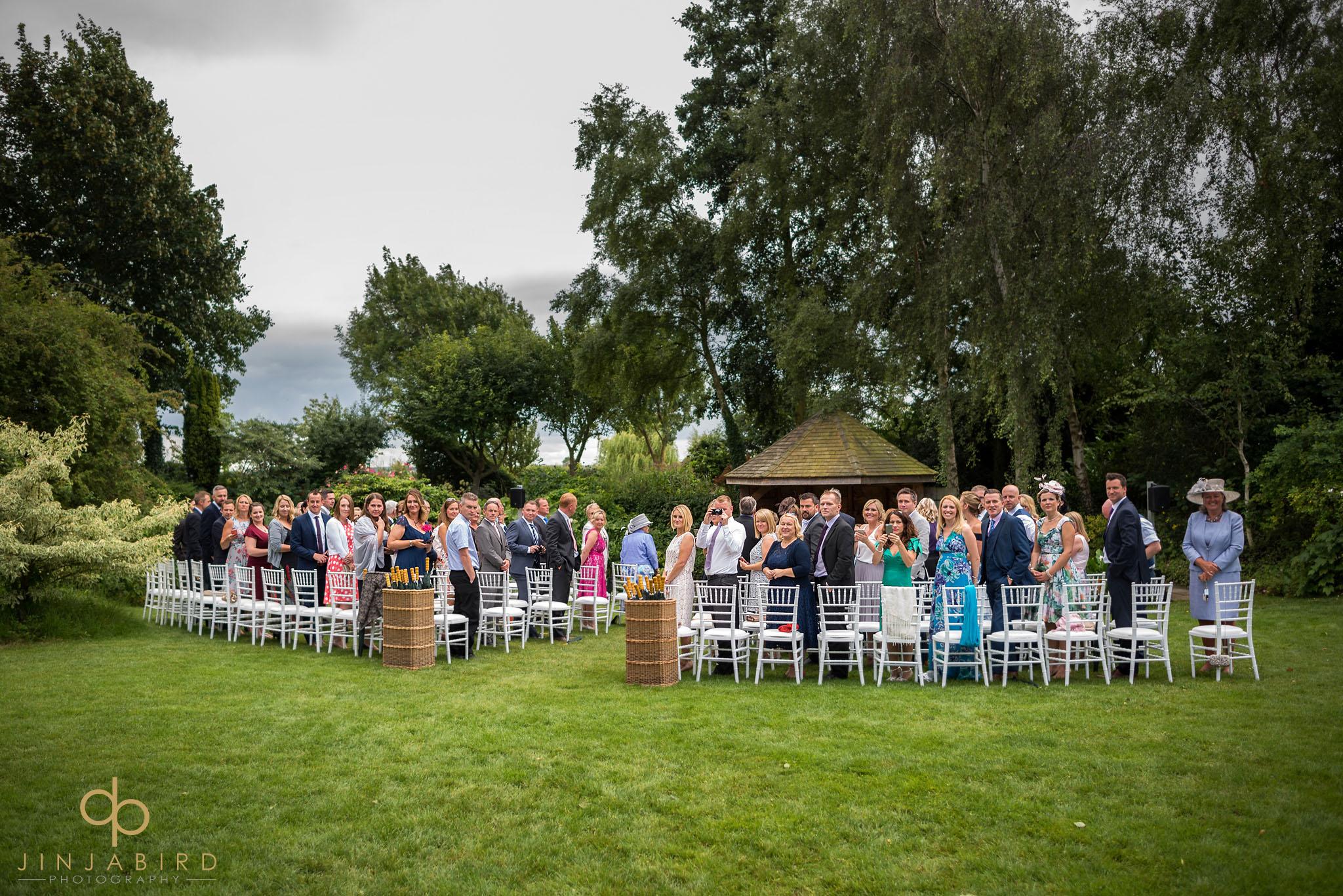 wedding ceremony south farm