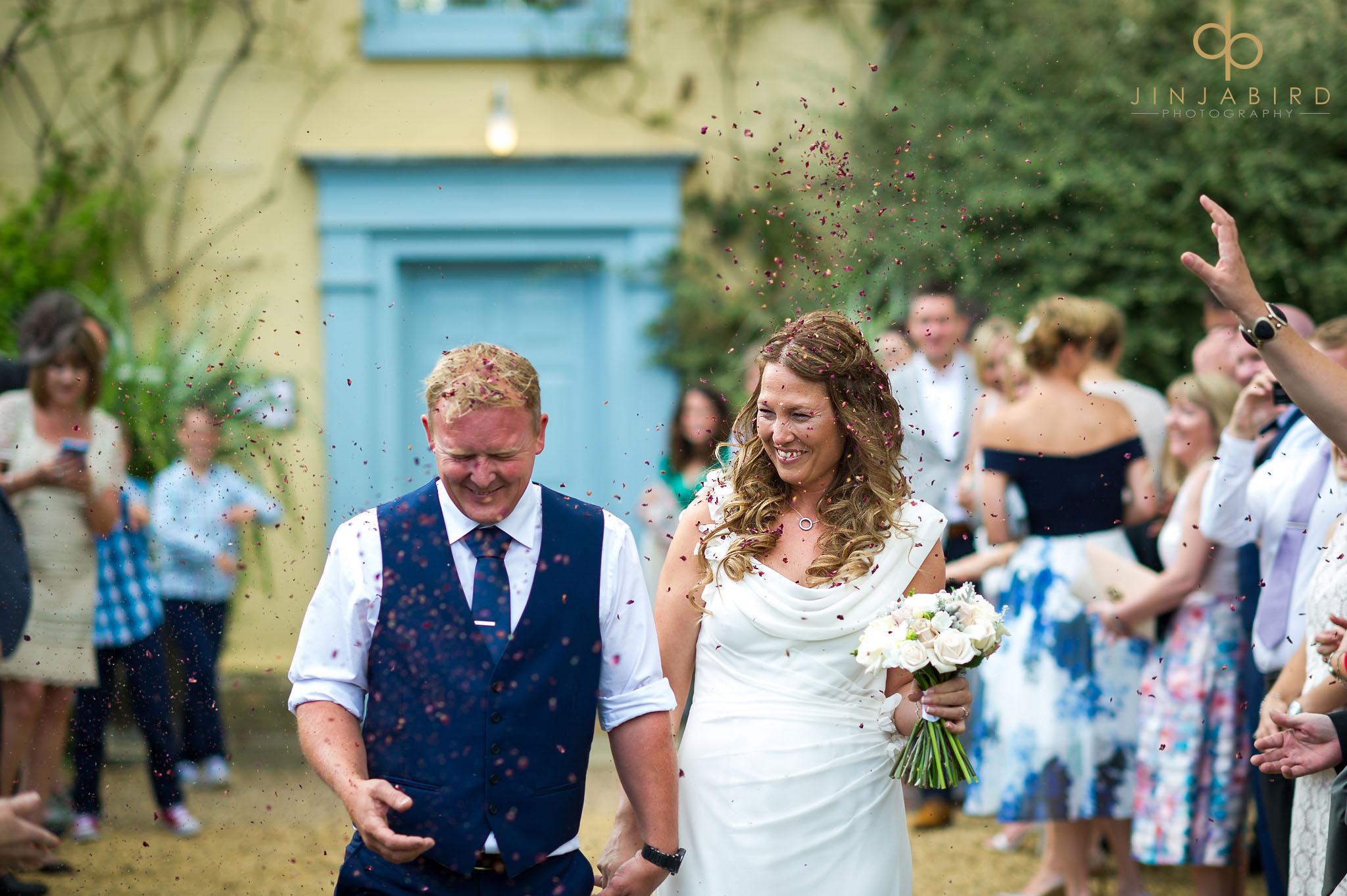 wedding confetti south farm