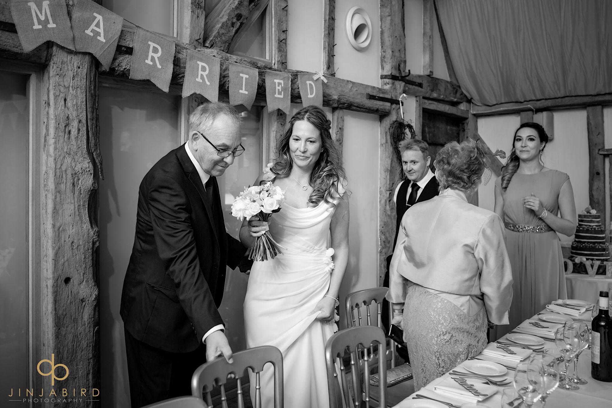 wedding reception south farm