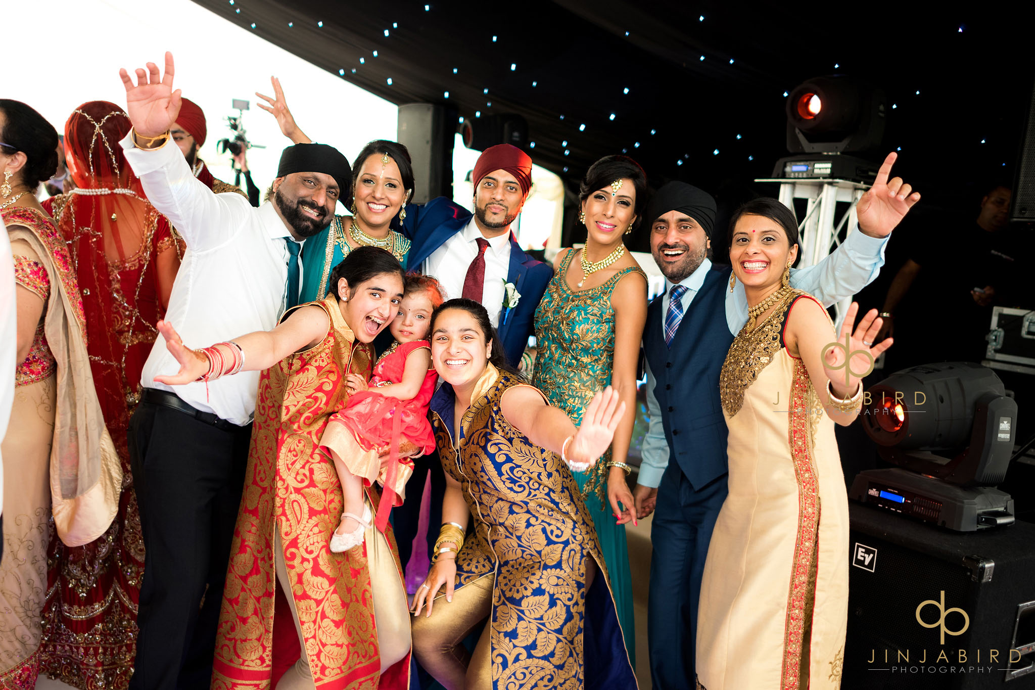 asian wedding turvey house