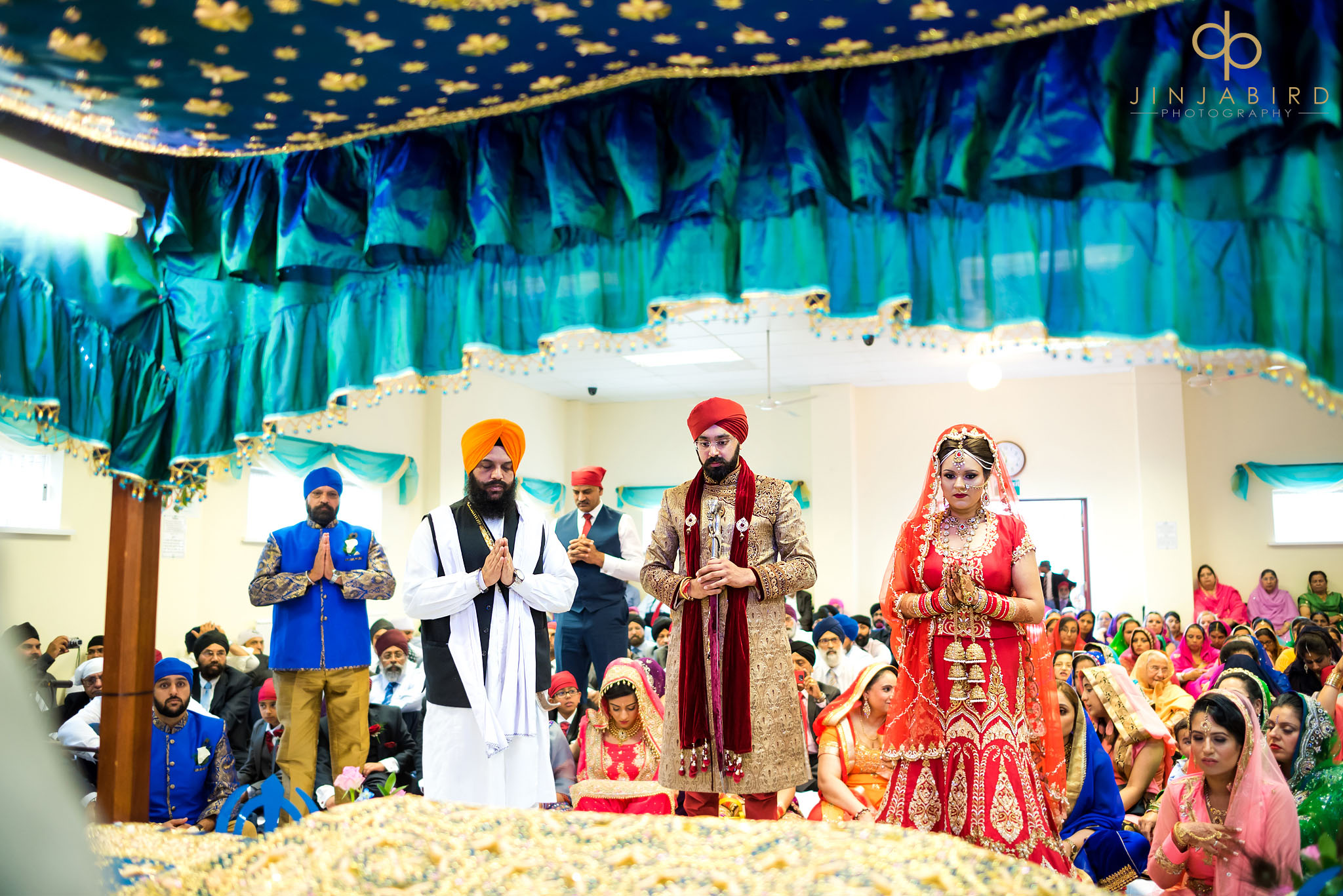 gurdwara wedding photograph bedford