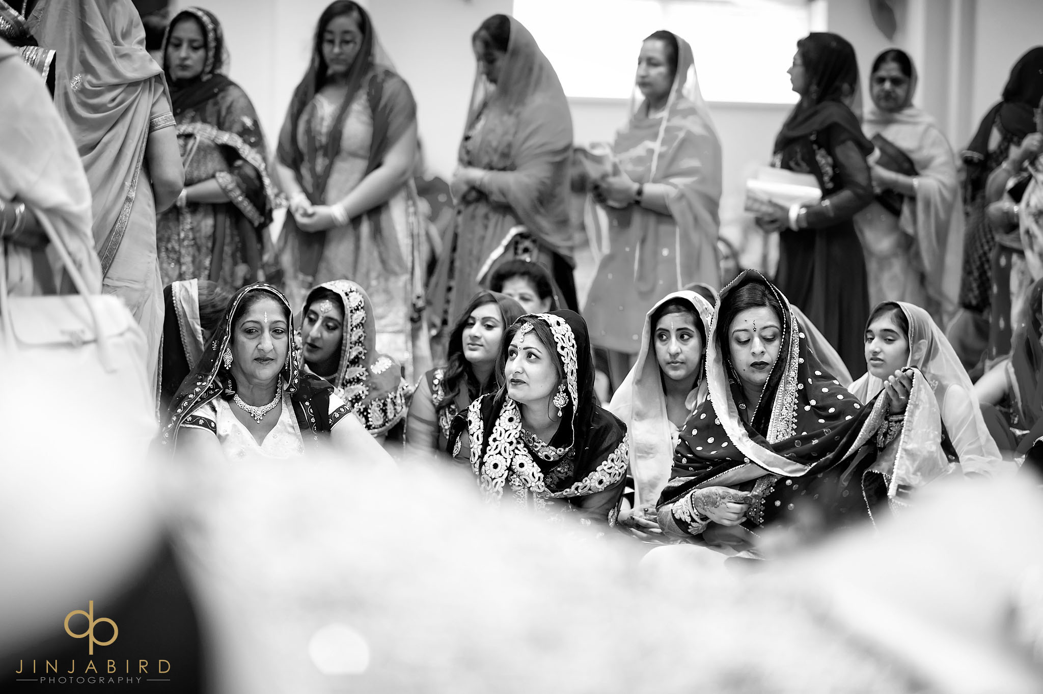 gurdwara wedding photographer bedford