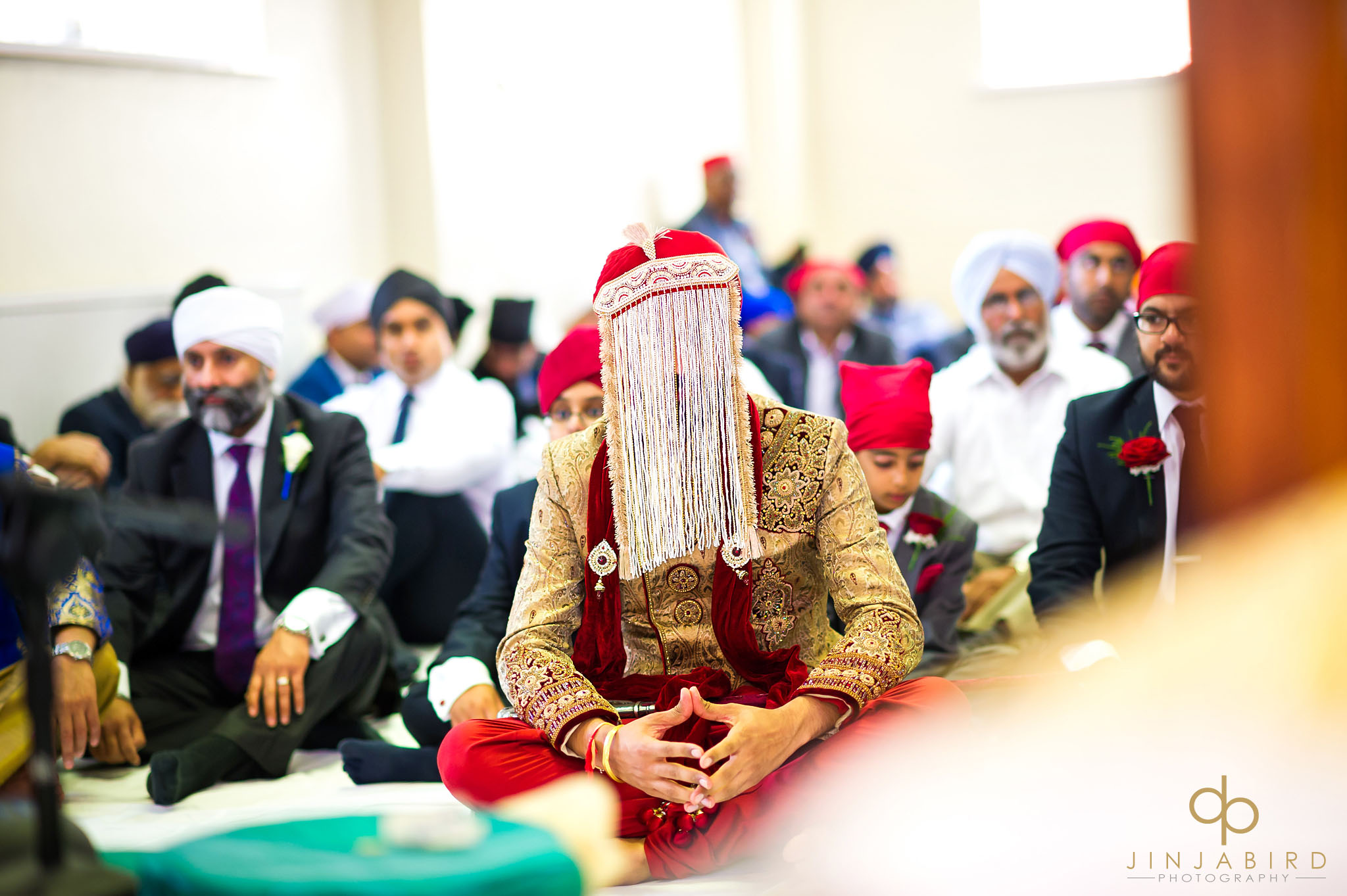 gurdwara wedding photographers bedford