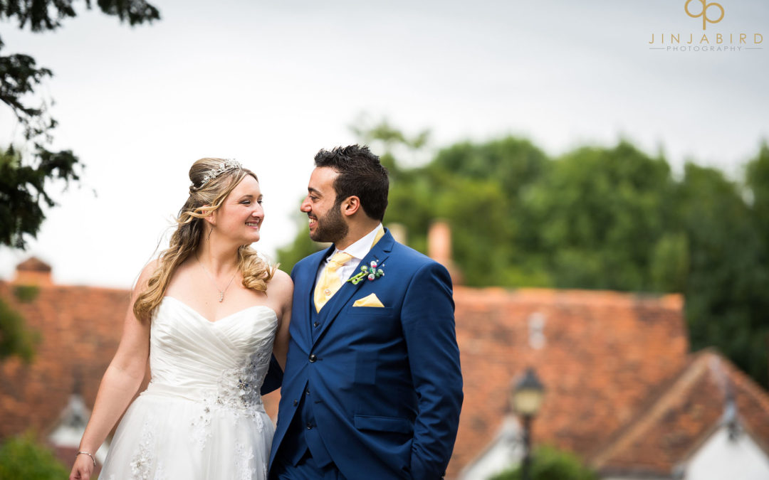 Wedding photographer Barns Hotel Bedford