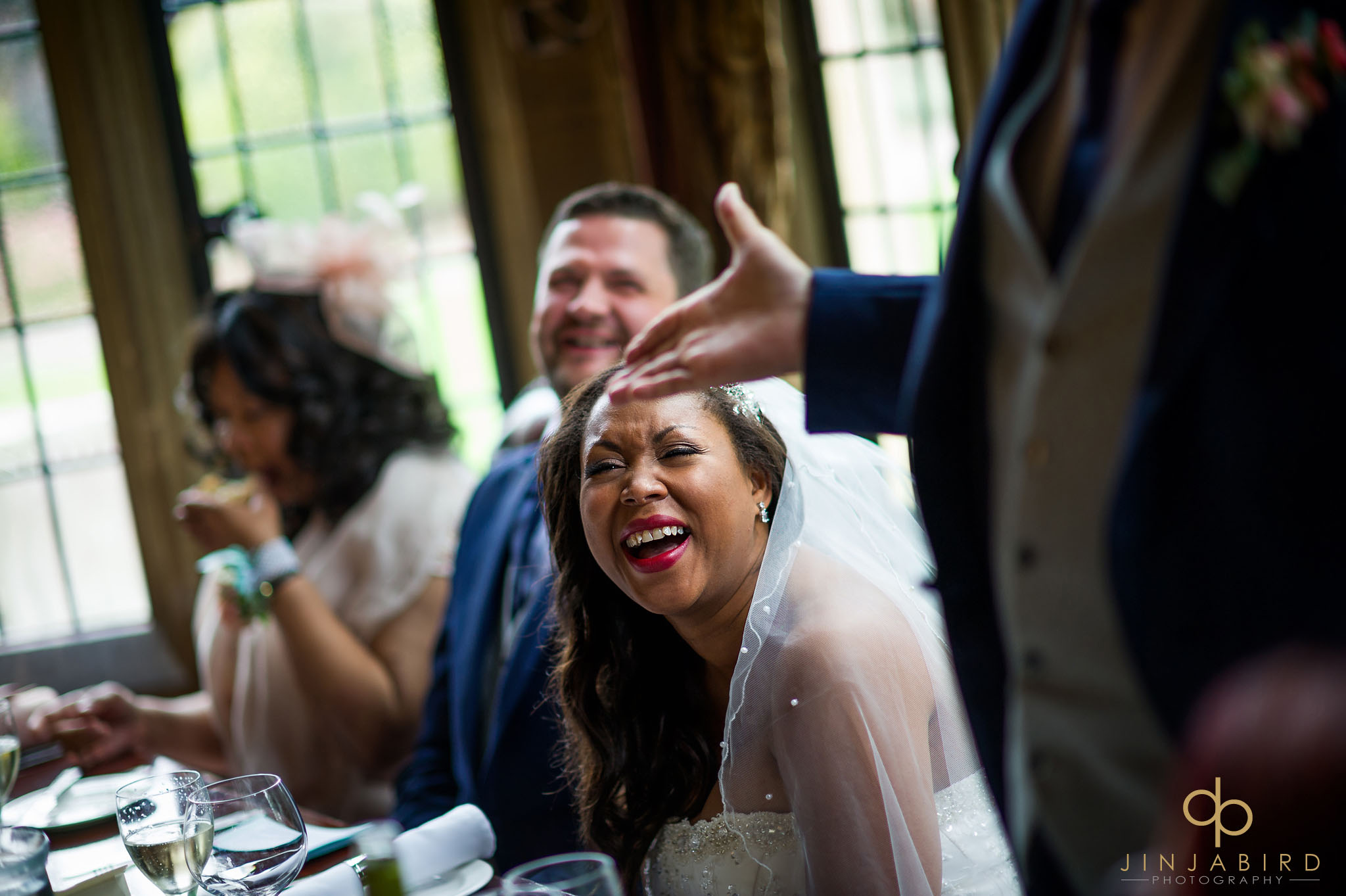 bride-laughing-at-speeches-highgate-house