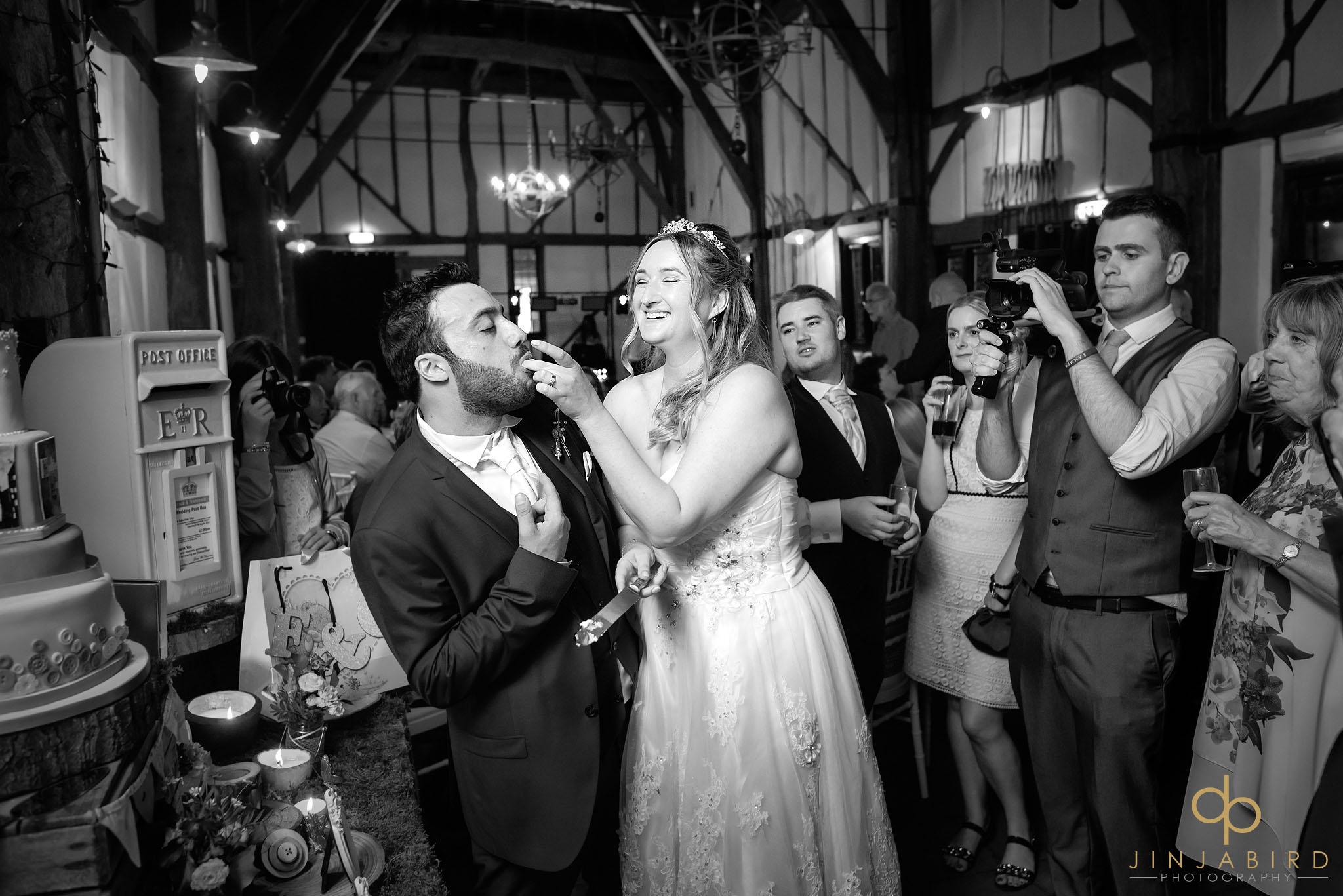 eating-wedding-cake-barns-hotel