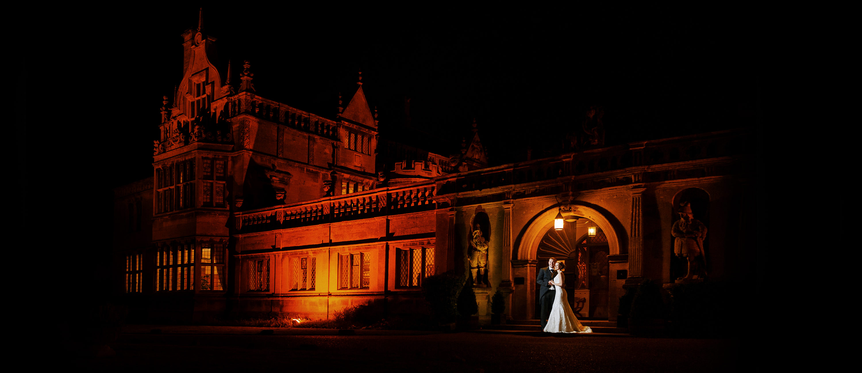 recommended wedding photographer rushton hall