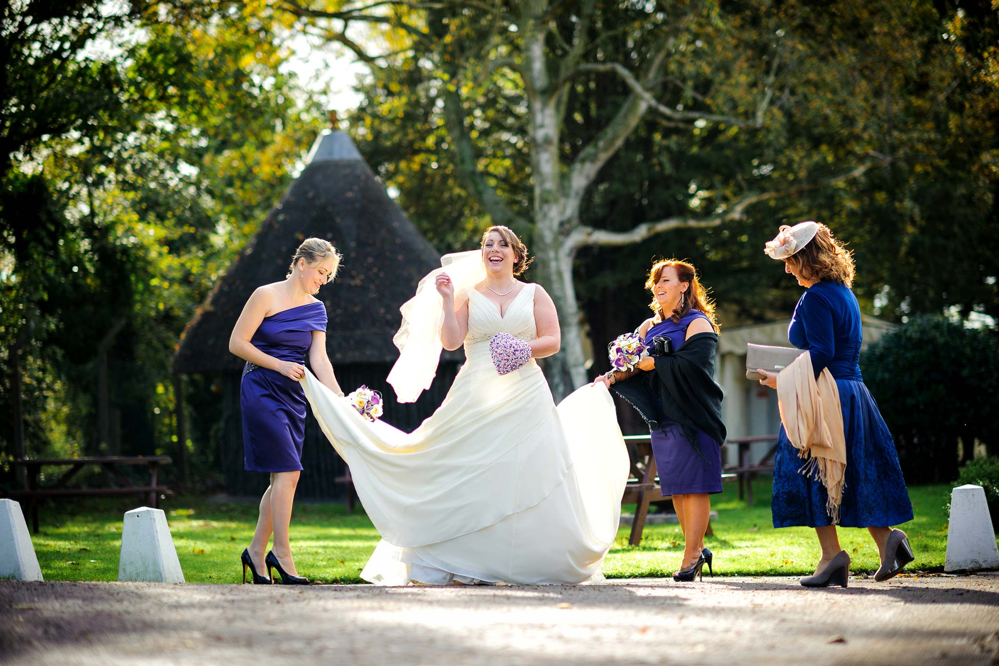 wedding photography reviews sharnbrook mill